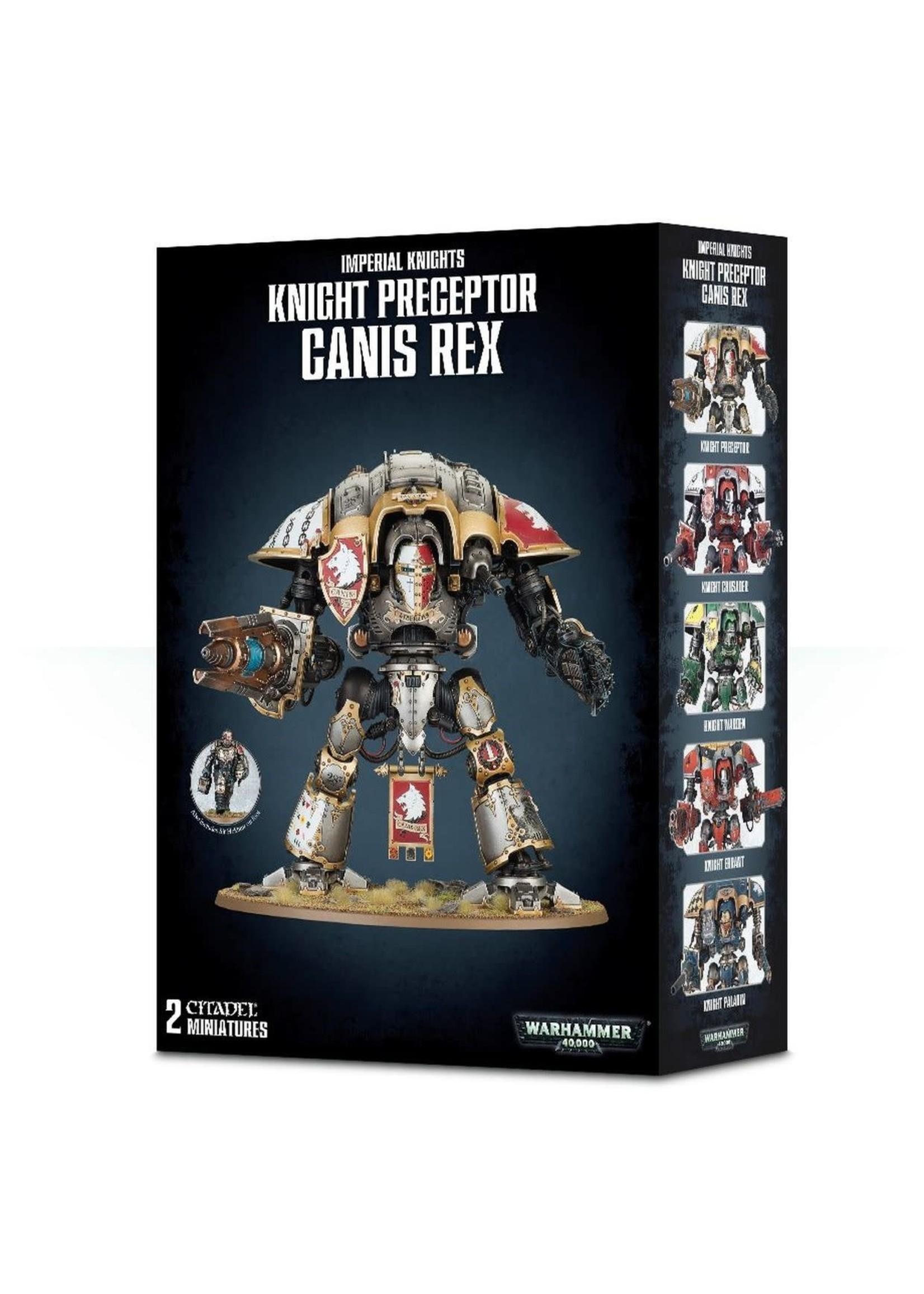 Warhammer: 40K Knight Preceptor Canis Rex