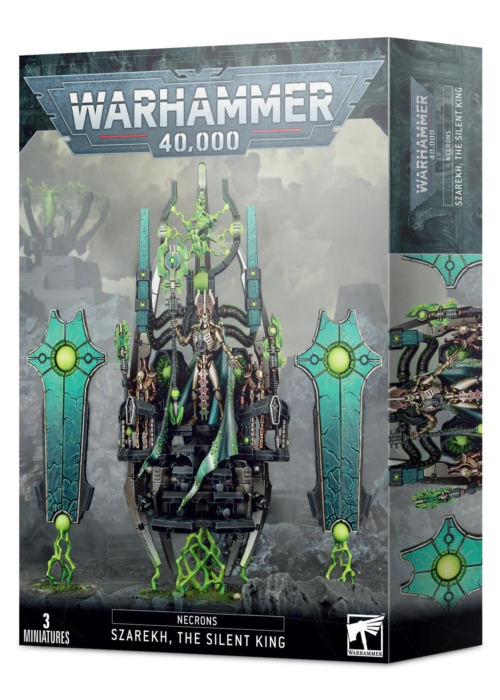 Warhammer: 40K Warhammer 40K: Necrons Szarekh The Silent King