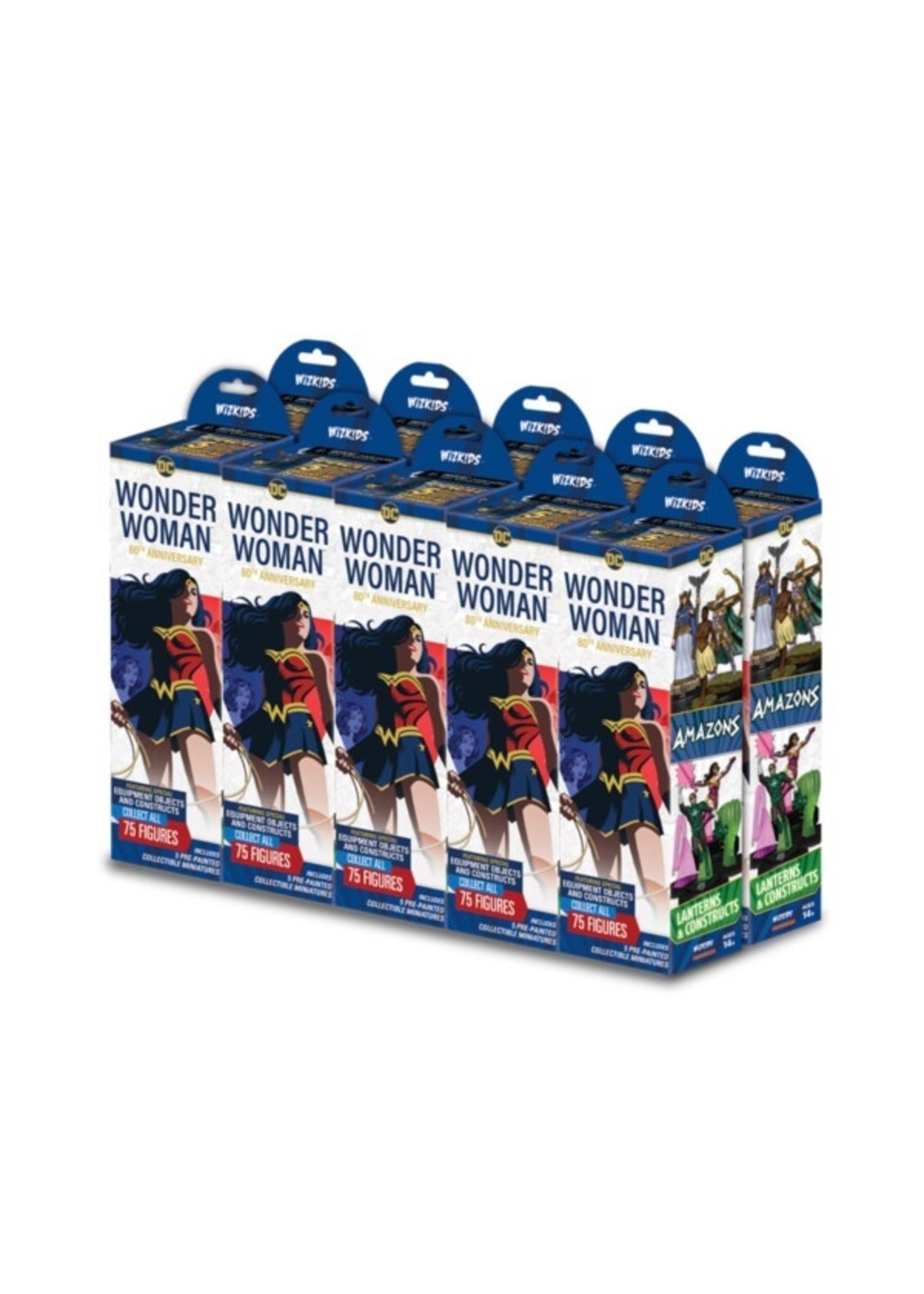Wizkids/NECA DC HeroClix: Wonder Woman 80th Anniversary Booster Brick