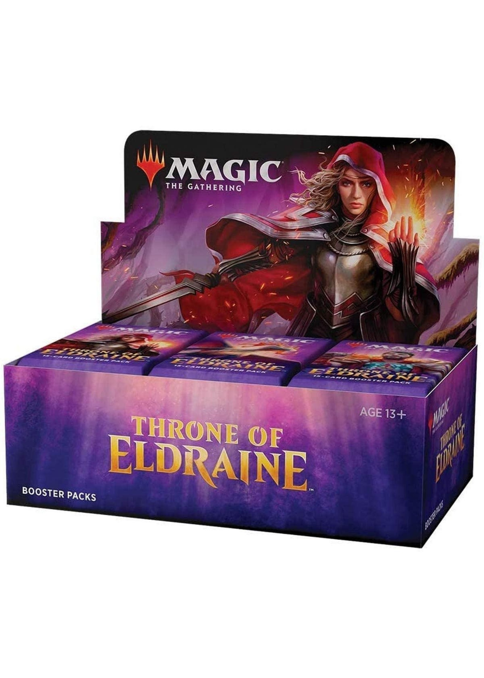 Magic: The Gathering Magic the Gathering: Throne of Eldraine Booster Display (36)