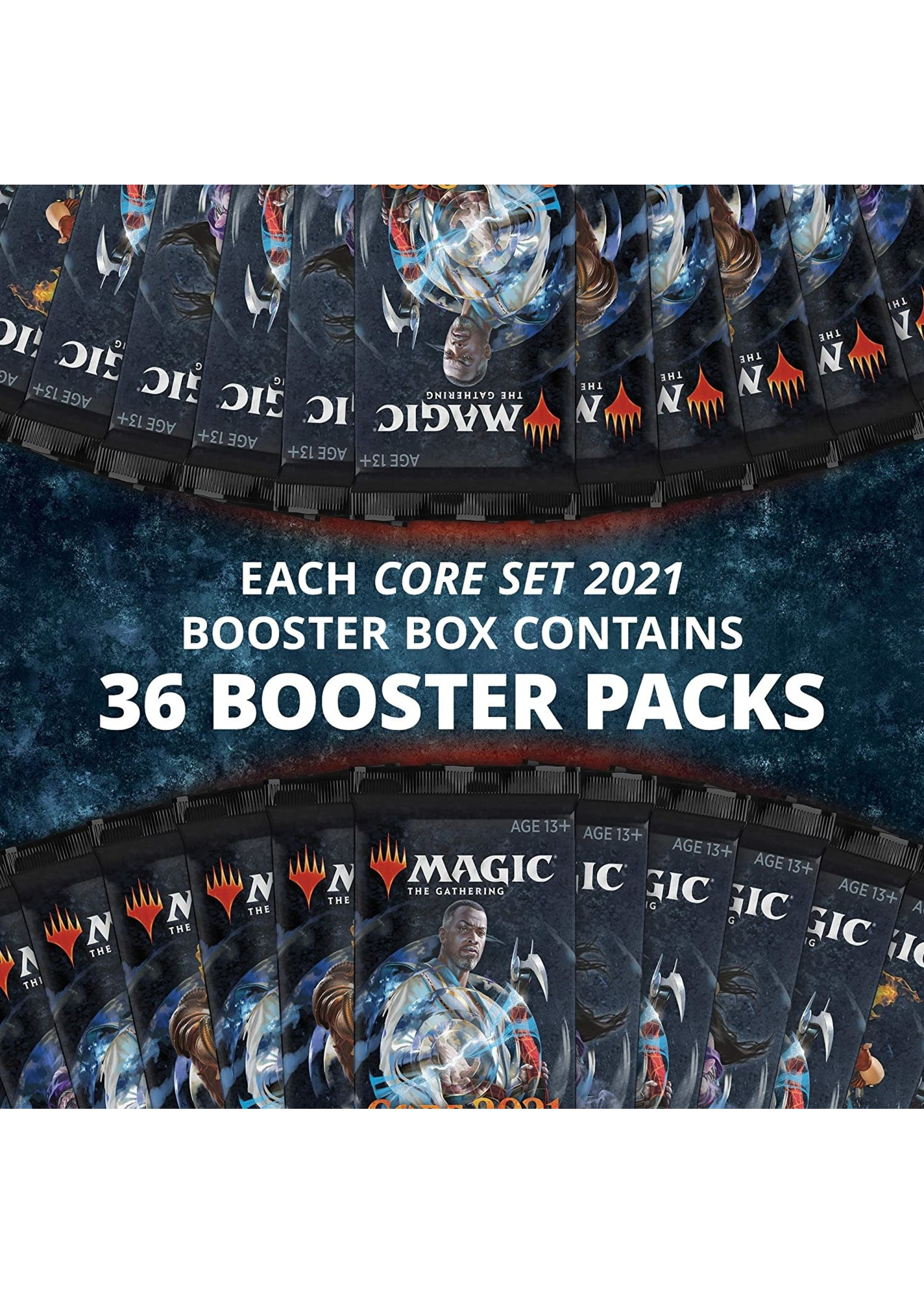 Magic: The Gathering Magic the Gathering CCG: Core 2021 Booster Display (36)