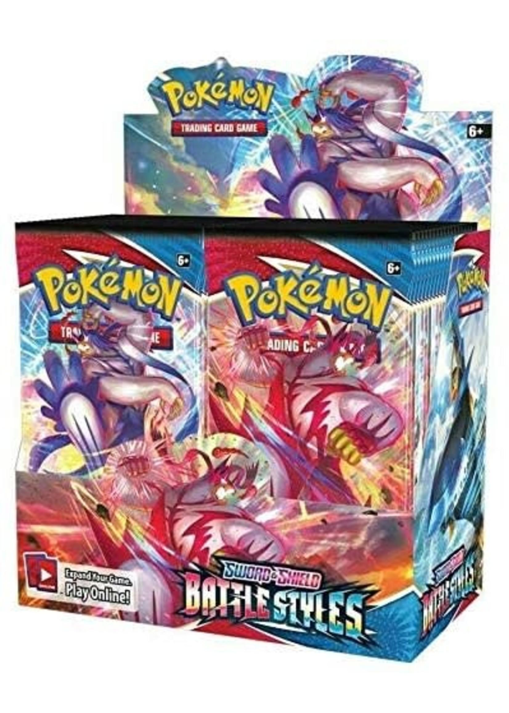 Pokemon USA Pokemon Battle Styles Booster Box