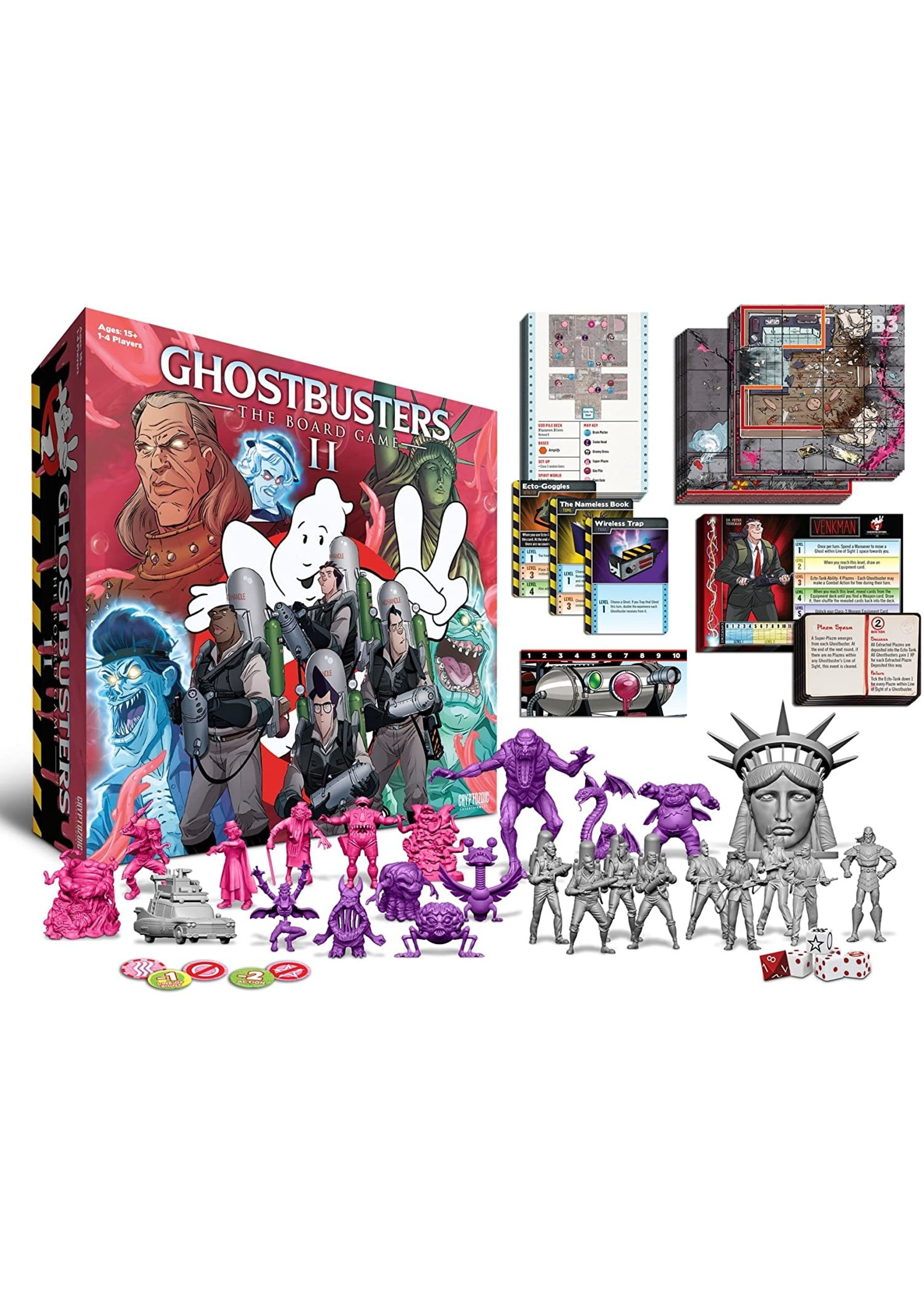 Cryptozoic Entertainment The Ghostbusters II: The Board Game