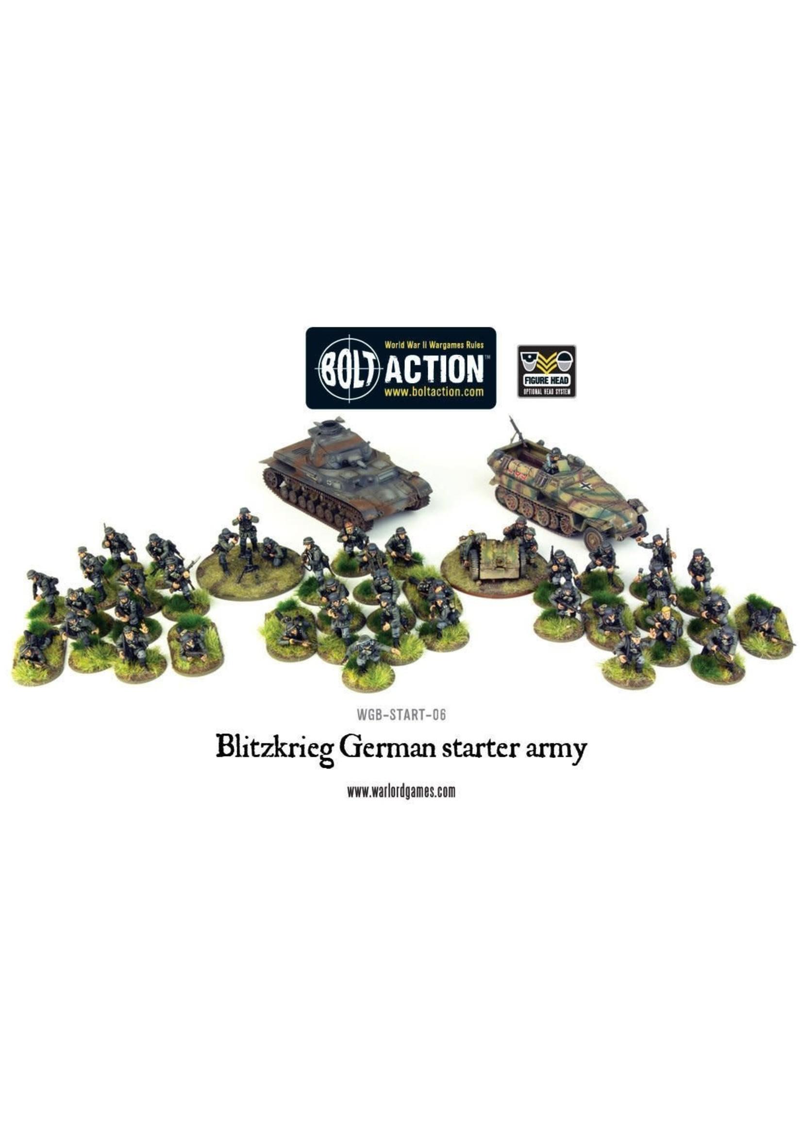Bolt Action Blitzkrieg German Army Starter