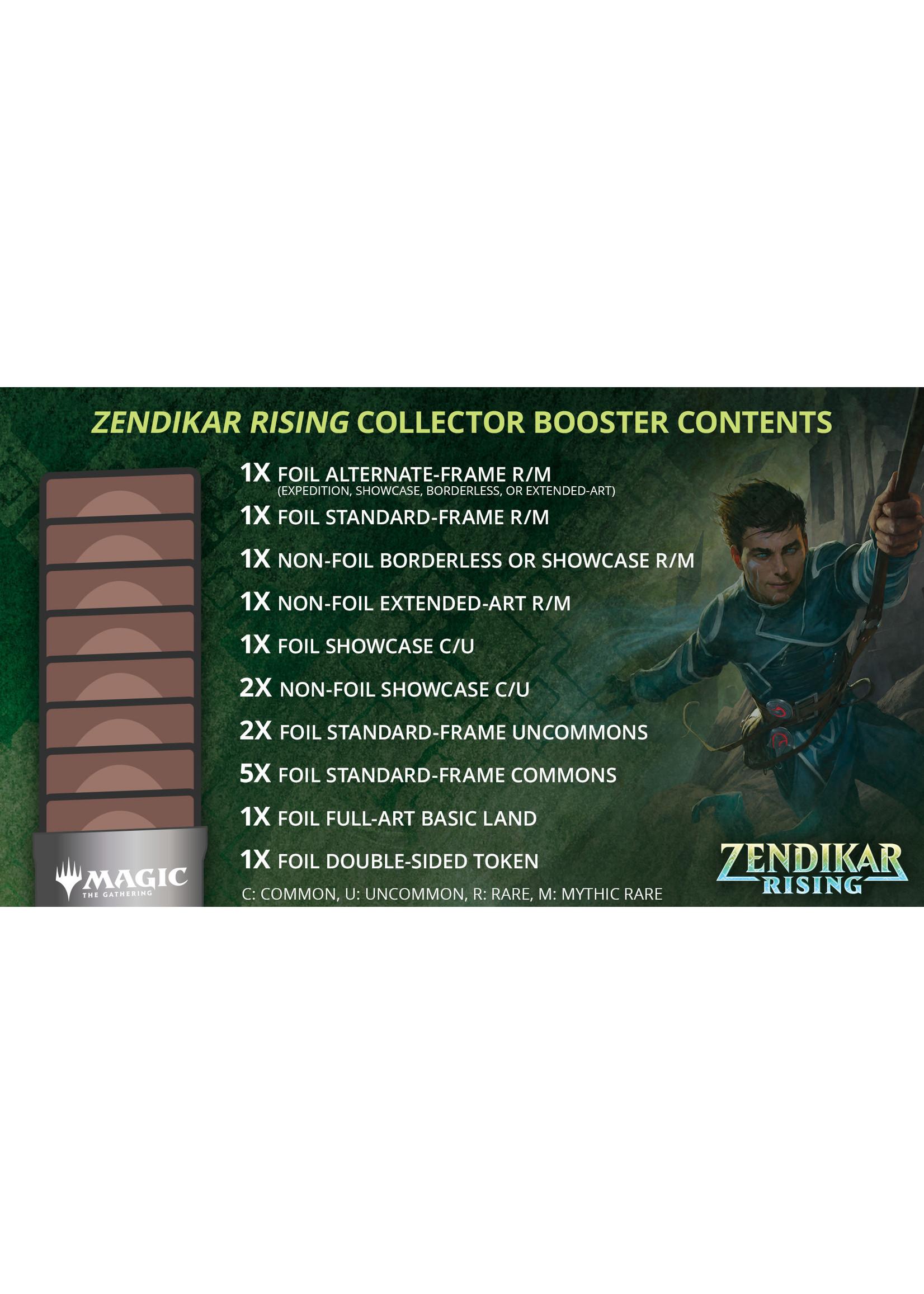 Magic: The Gathering Zendikar Rising Collector Collector Booster Box