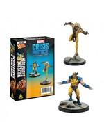 Atomic Mass Games Marvel Crisis Protocol: Wolverine & Sabertooth