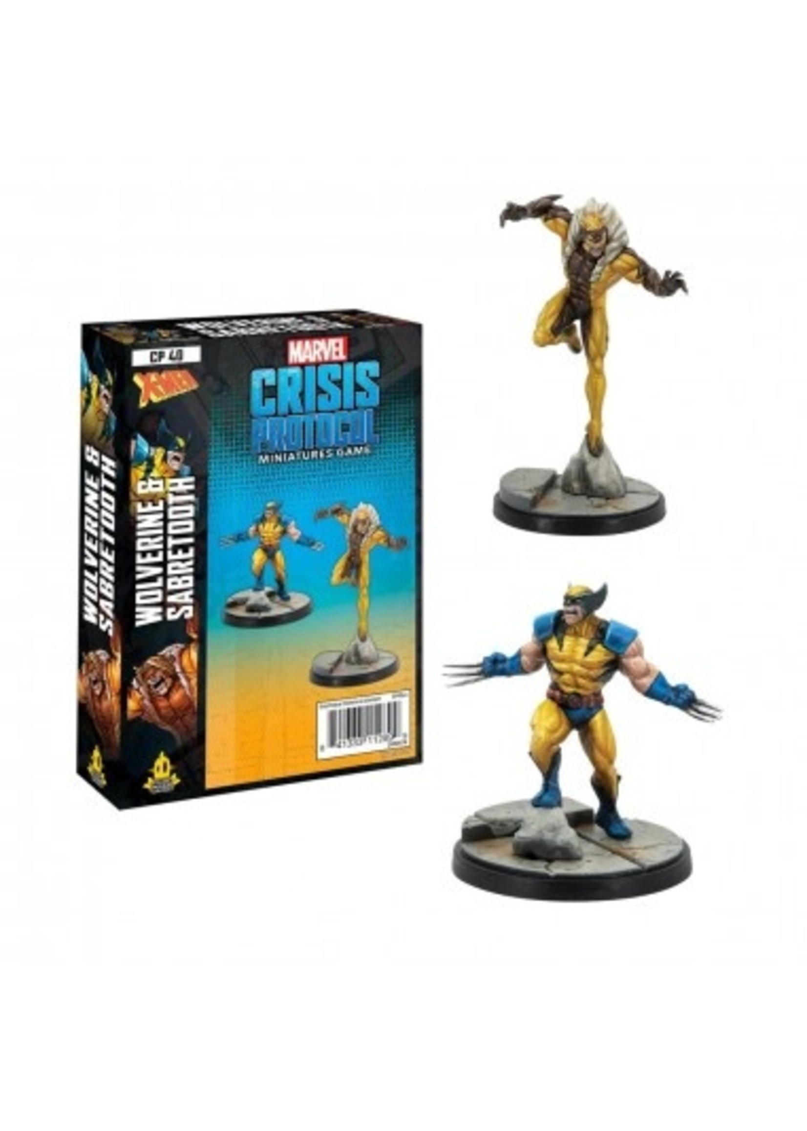 Atomic Mass Games Marvel Crisis Protocol: Wolverine & Sabertooth