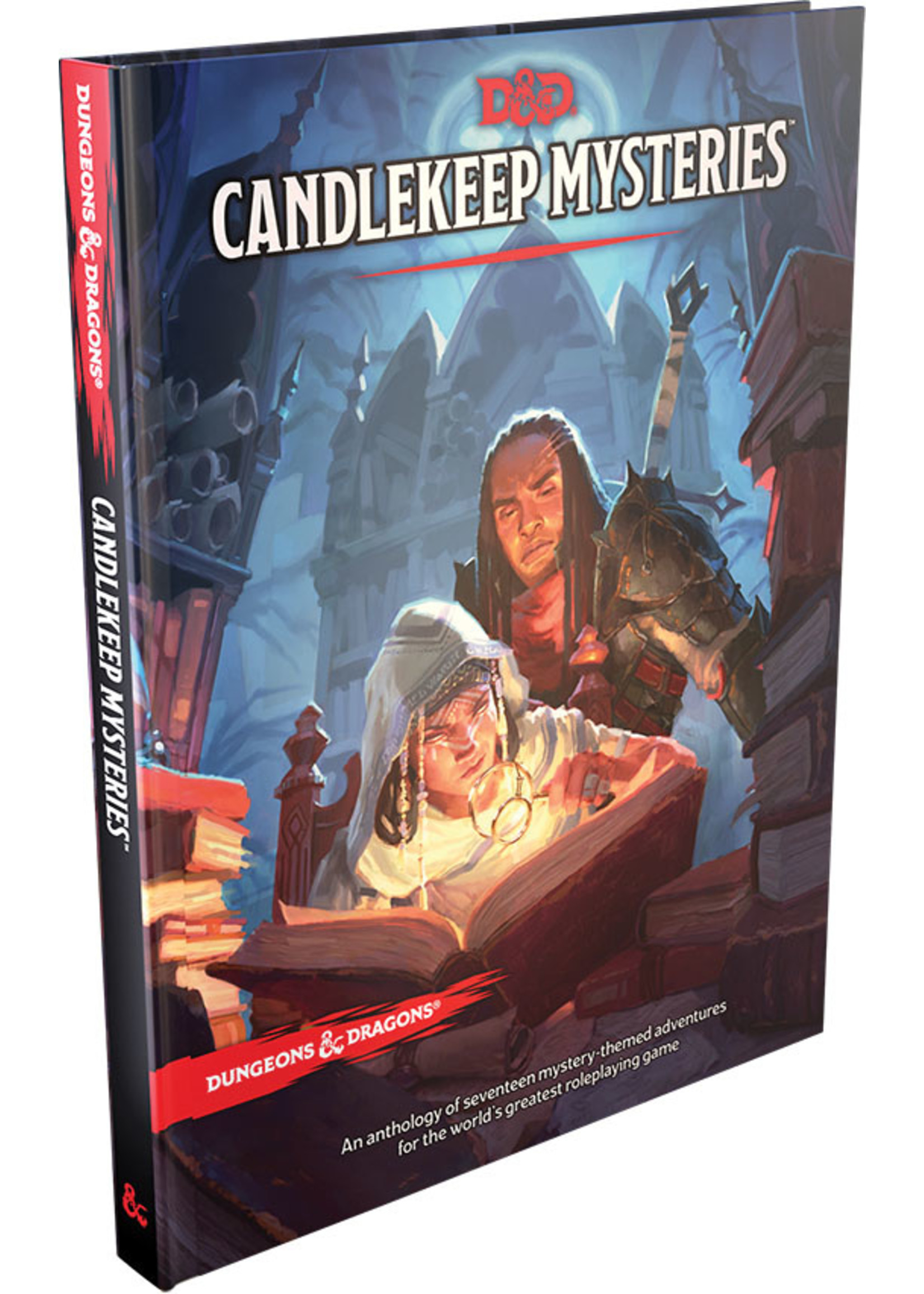 Dungeons & Dragons Candlekeep Mysteries Hard Cover