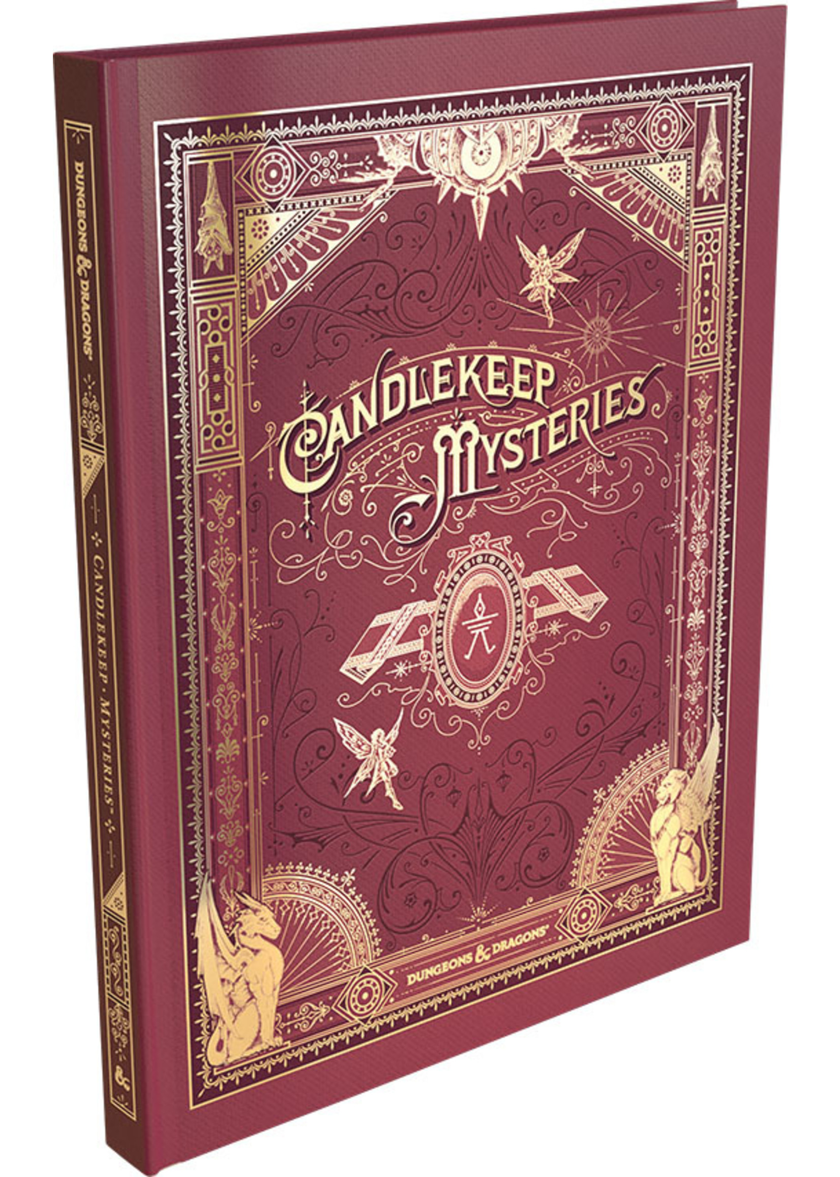 Dungeons & Dragons Candlekeep Mysteries Hard Cover - Alternate Cover