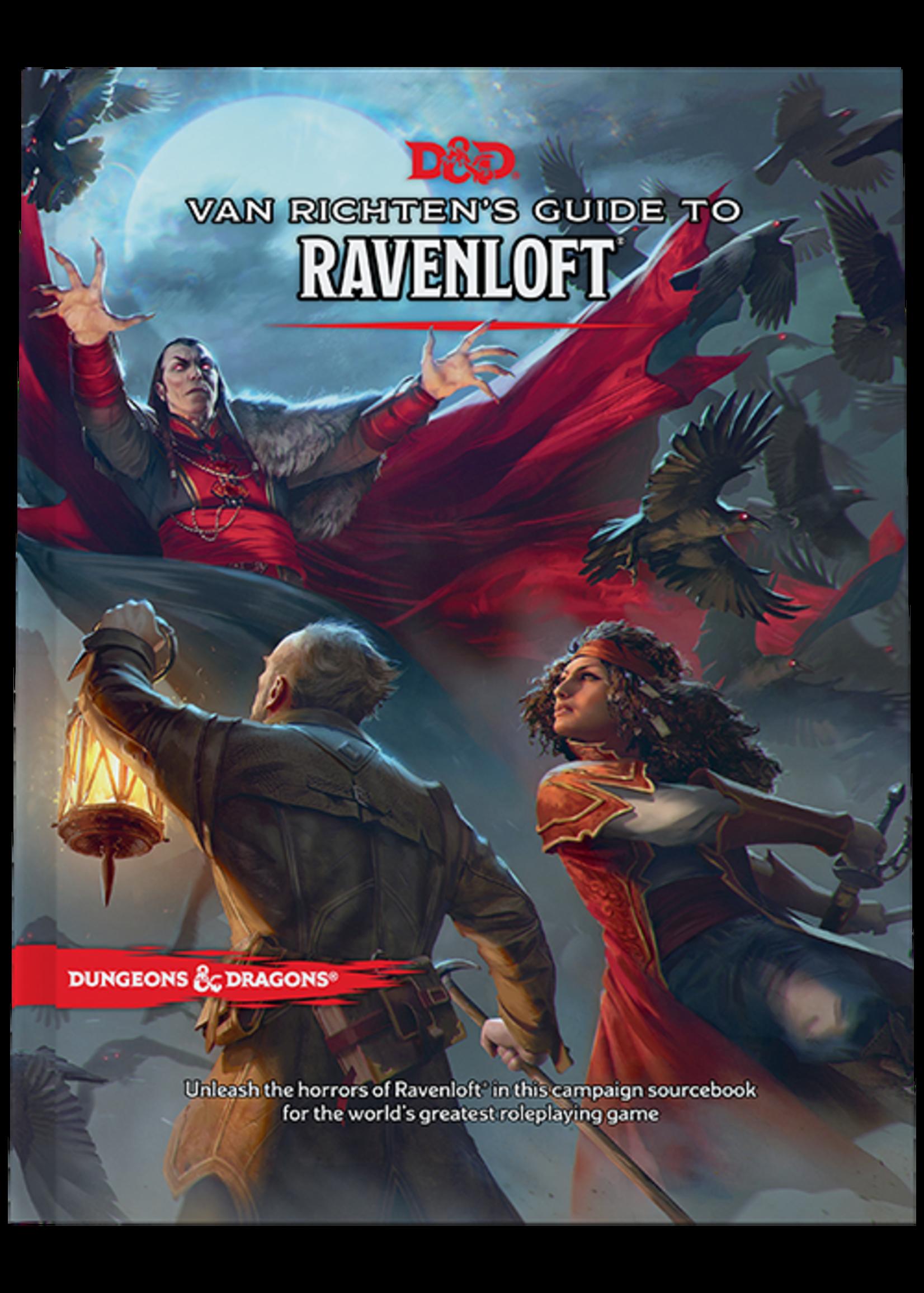 Dungeons & Dragons Van Richten`s Guide to Ravenloft Hard Cover