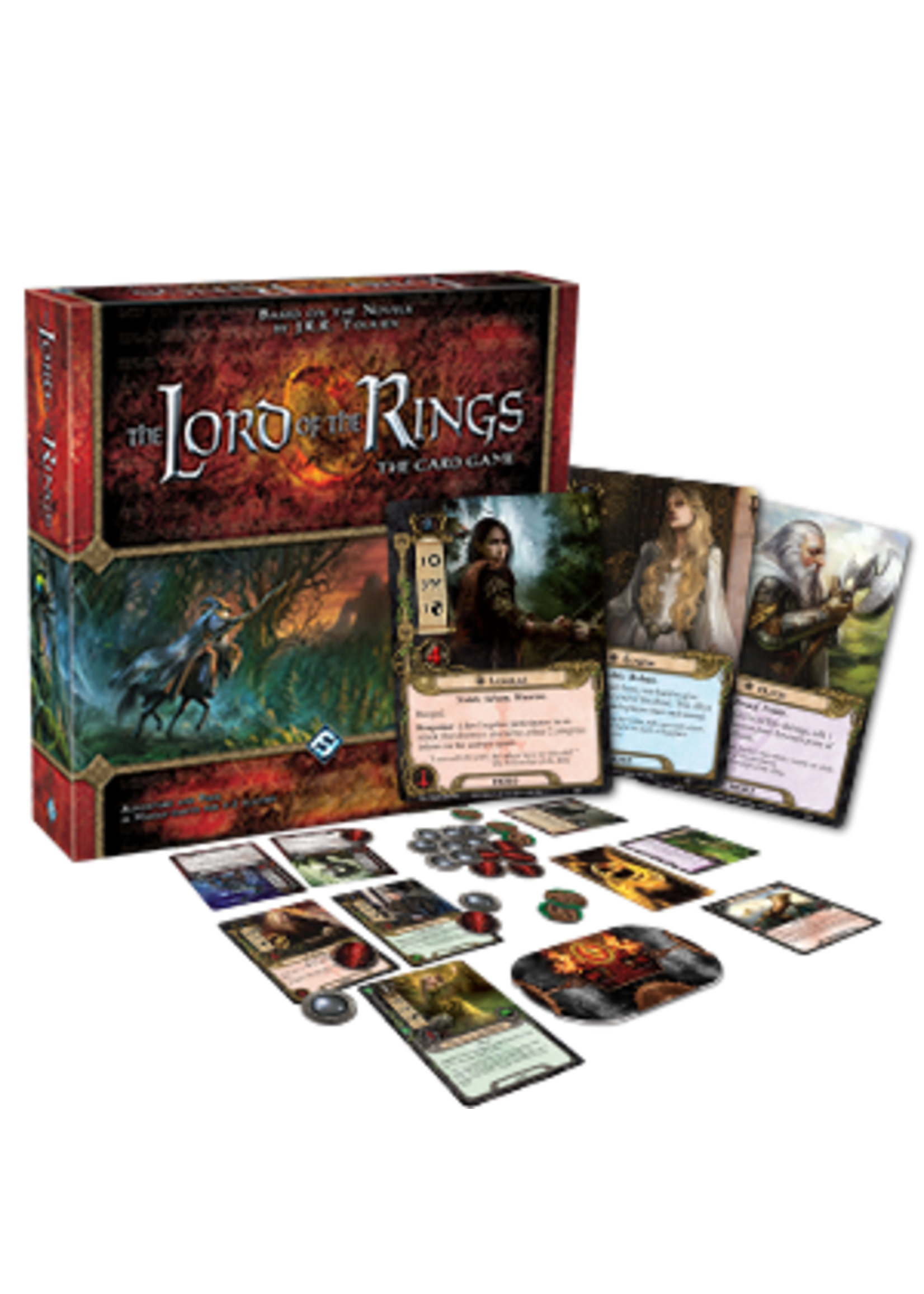 Fantasy Flight Games The Lord of the Rings LCG: Core Set