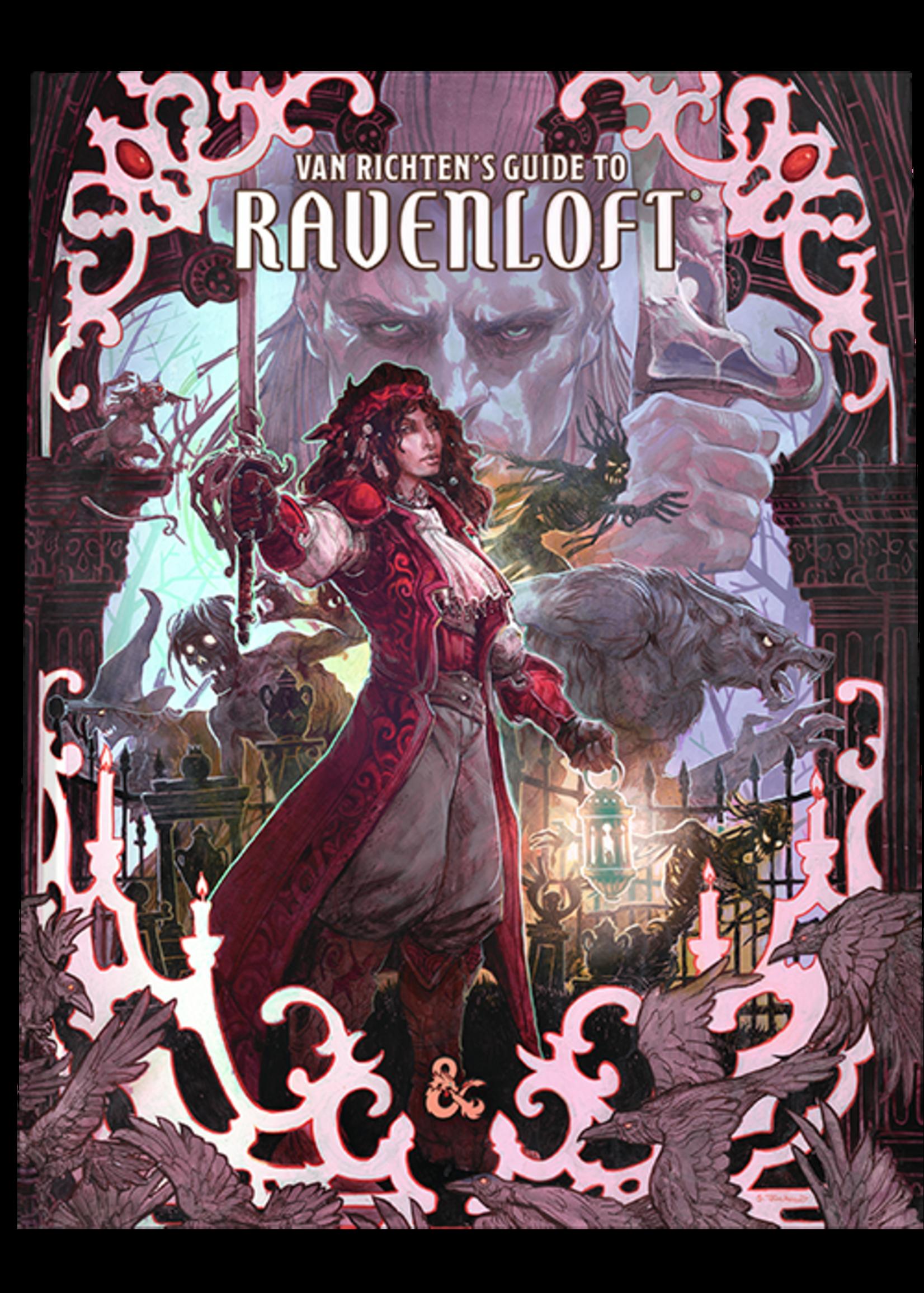 Dungeons & Dragons Van Richten`s Guide to Ravenloft Hard Cover - Alt. Cover