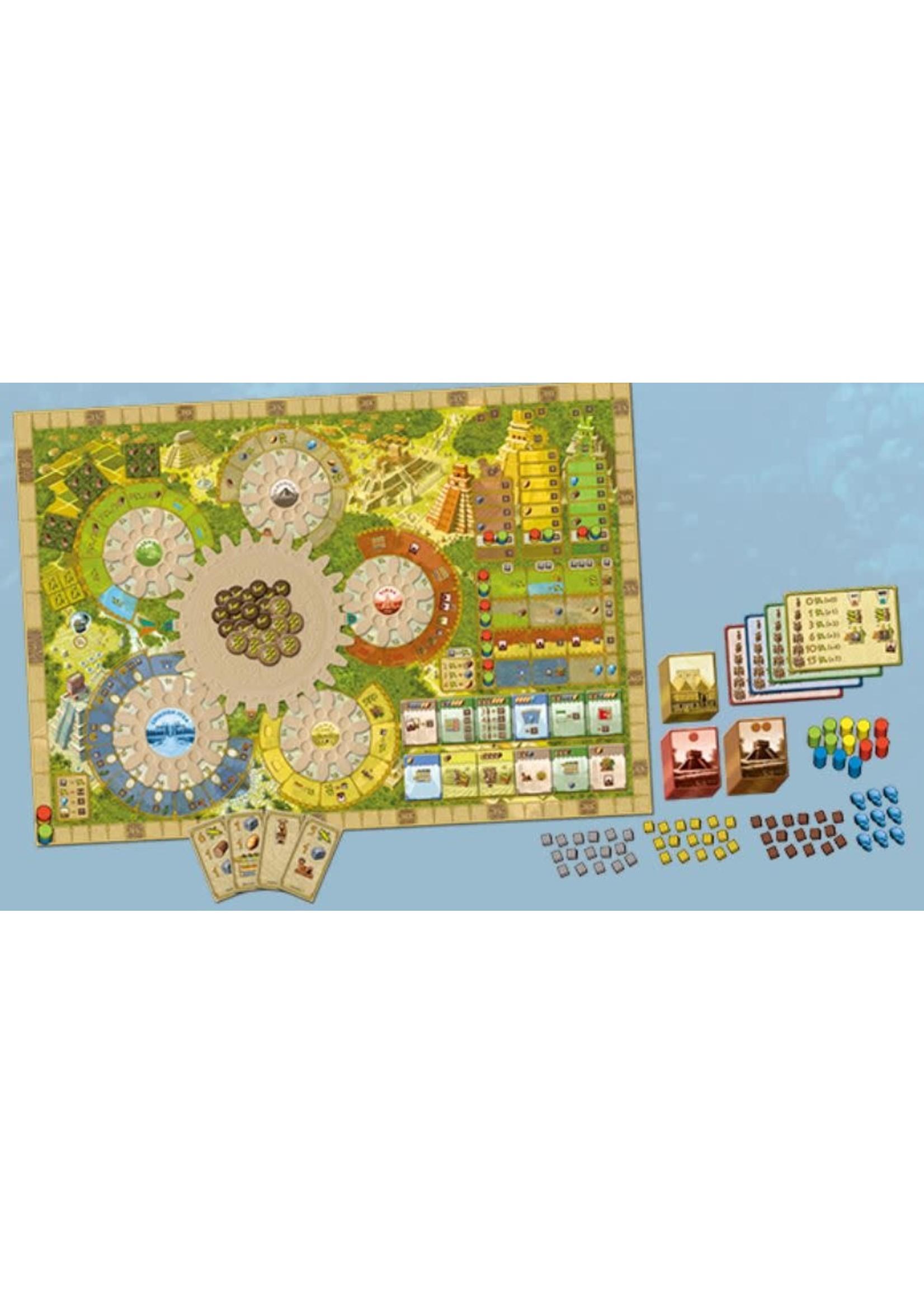 Czech Games Tzolk in The Mayan Calendar