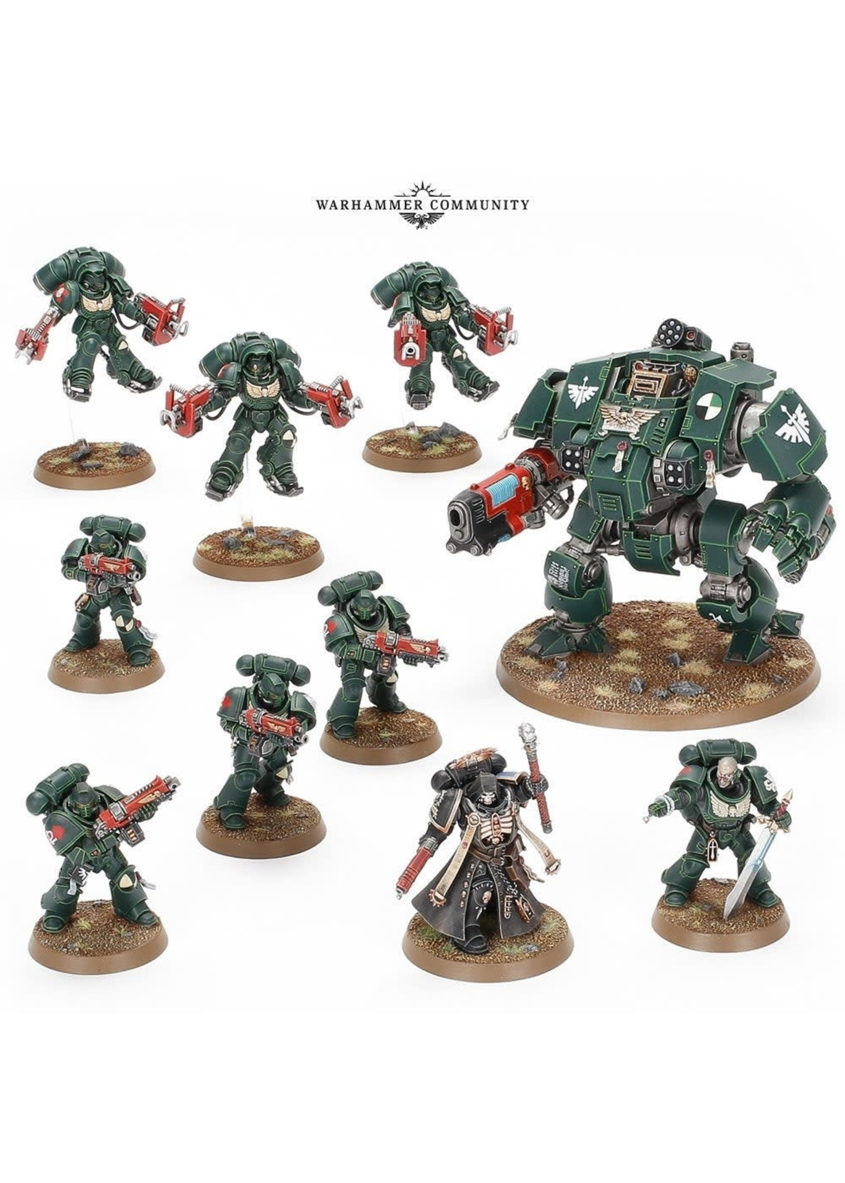 Warhammer: 40K Combat Patrol: Dark Angels