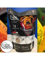Geek Grind Dragons Roast - Dark Roast Coffee - K-Cups for Keurig - 24 K-Cup Pack - 24 K-Cup Pods - Individual Pouch of 24 KCups