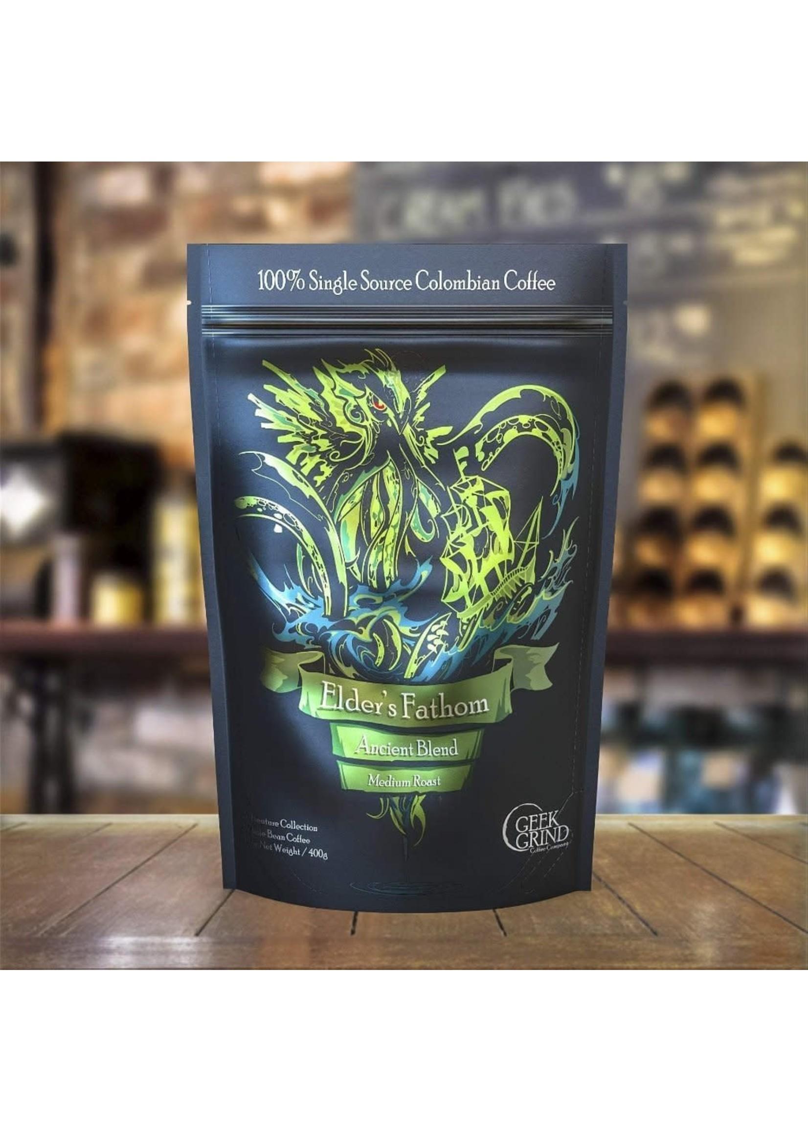 Geek Grind Elder's Fathom - Ancient Blend - Medium Roast Coffee- 12 oz. Individual Bag
