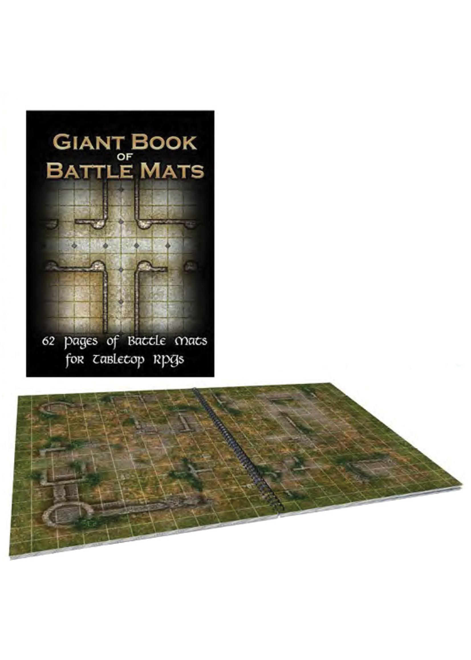 Loke Battle Mats Battle Mats: Giant Book of Battlemats