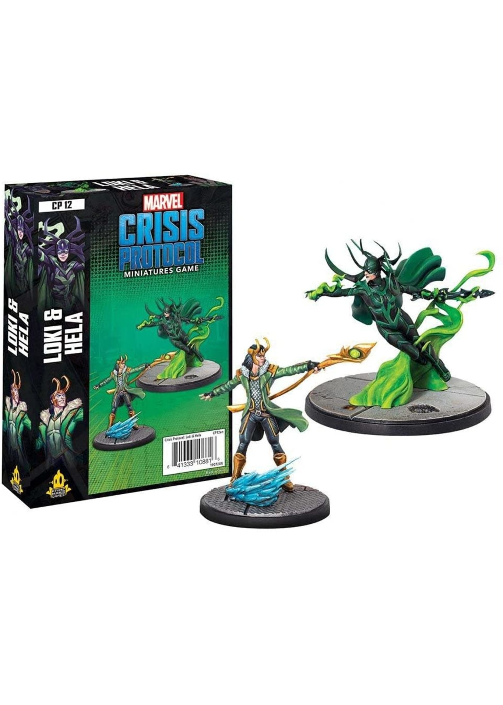 Atomic Mass Games Marvel Crisis Protocol: Loki & Hella