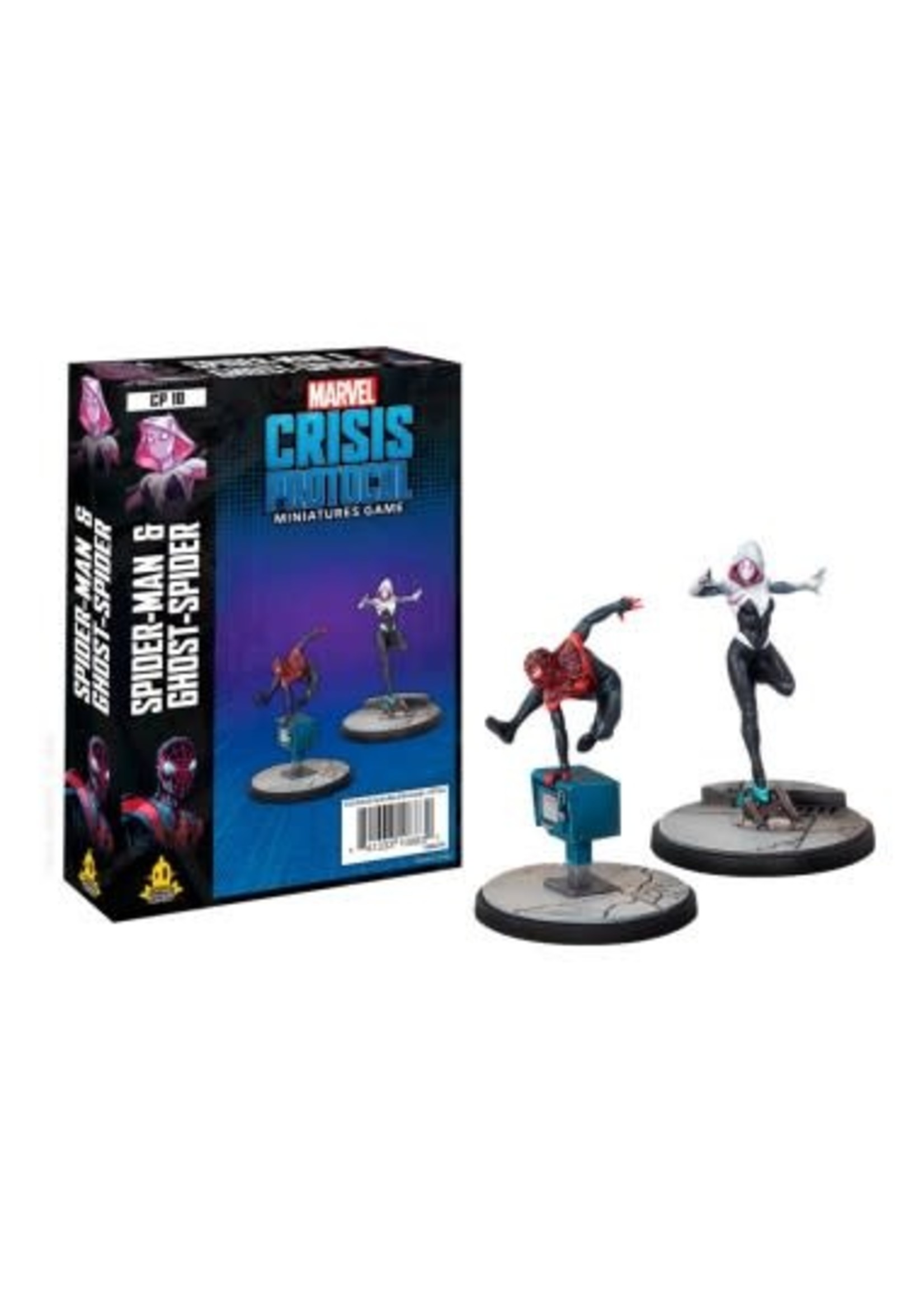 Fantasy Flight Games Marvel Crisis Protocol: Spiderman & Ghost-Spider