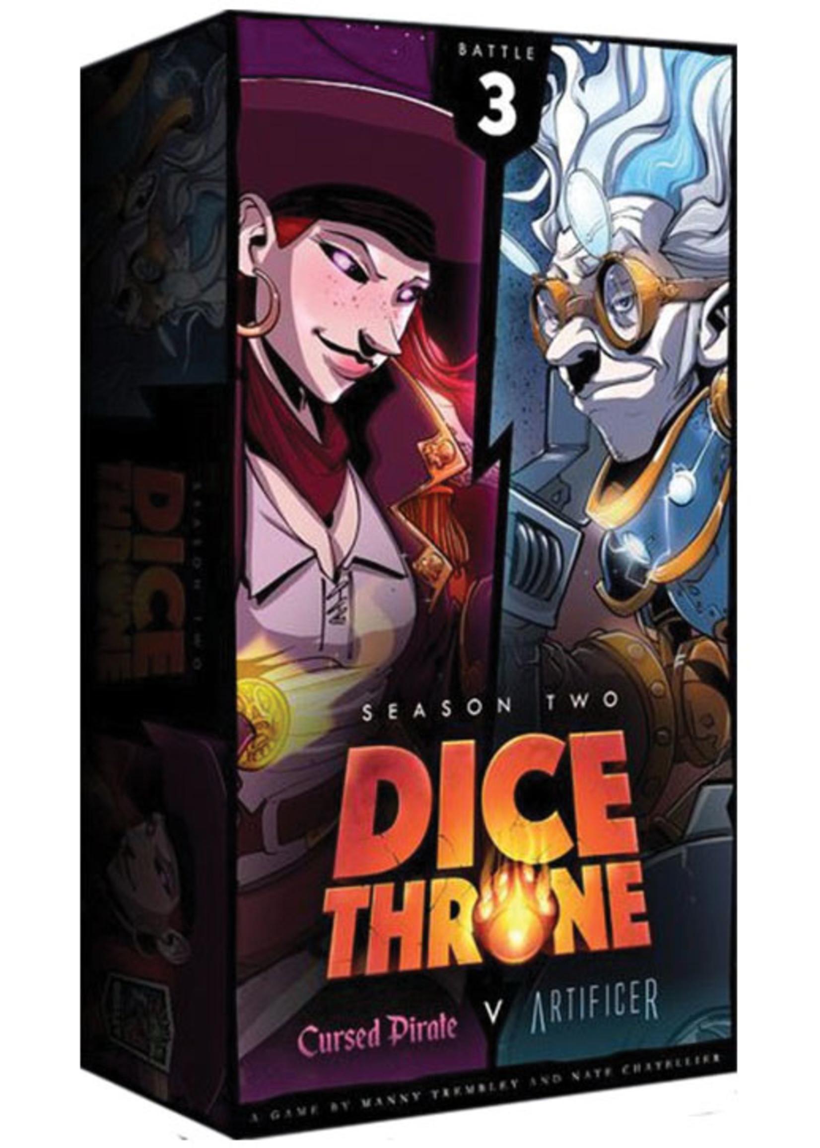Roxley Dice Throne - Season 2: Box 3 Cursed Pirate vs. Artificer