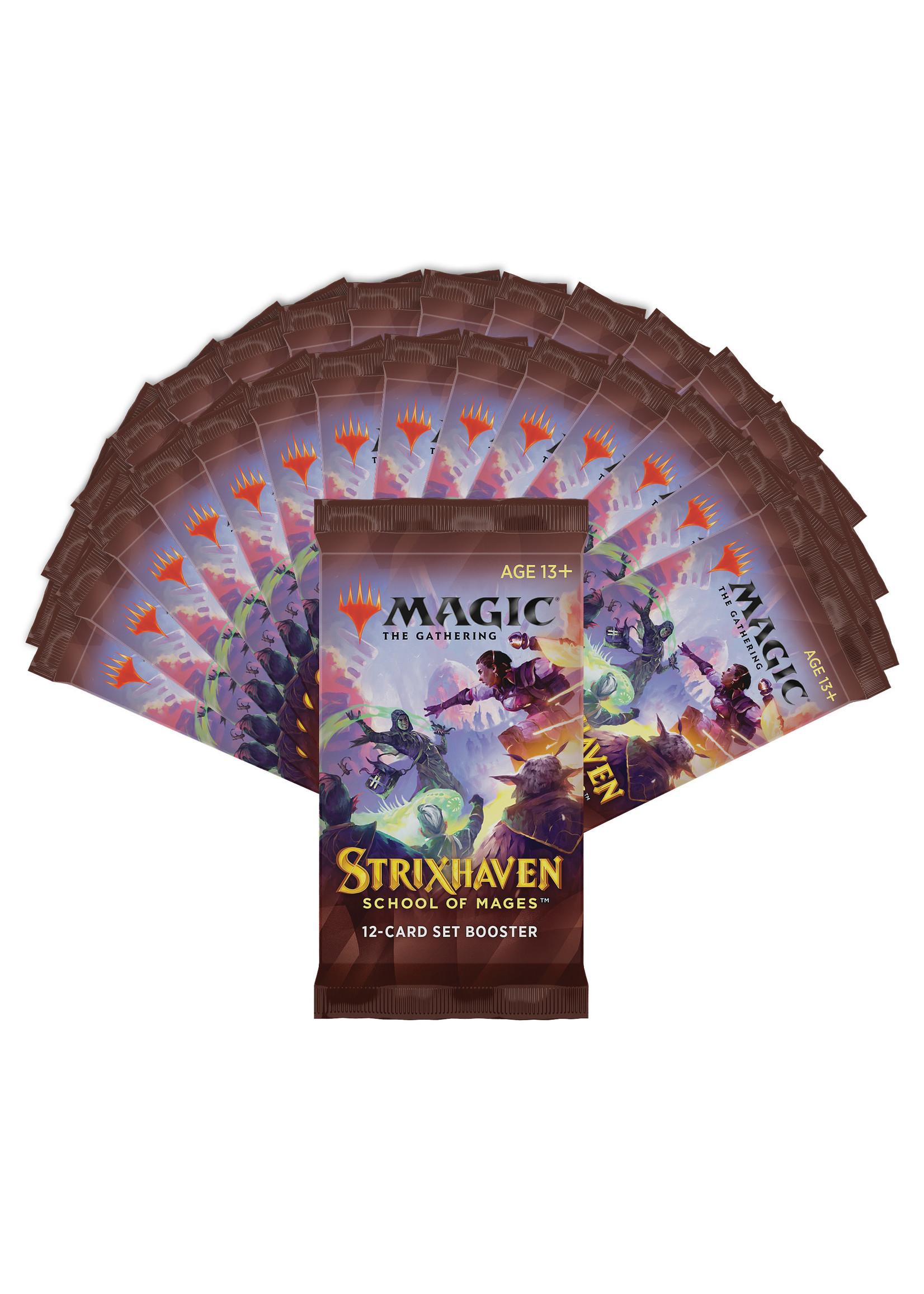 Magic: The Gathering Strixhaven Set booster box (30)