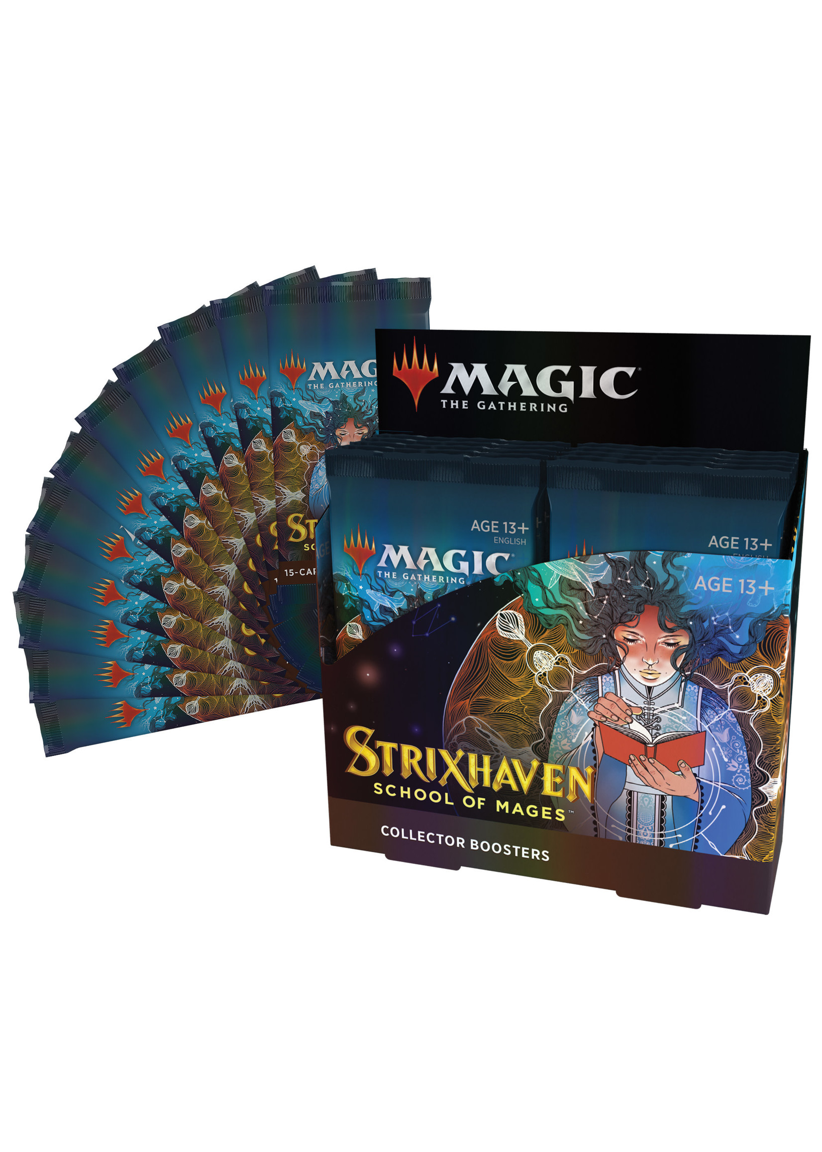 Magic: The Gathering Strixhaven Collector Booster Display (12)