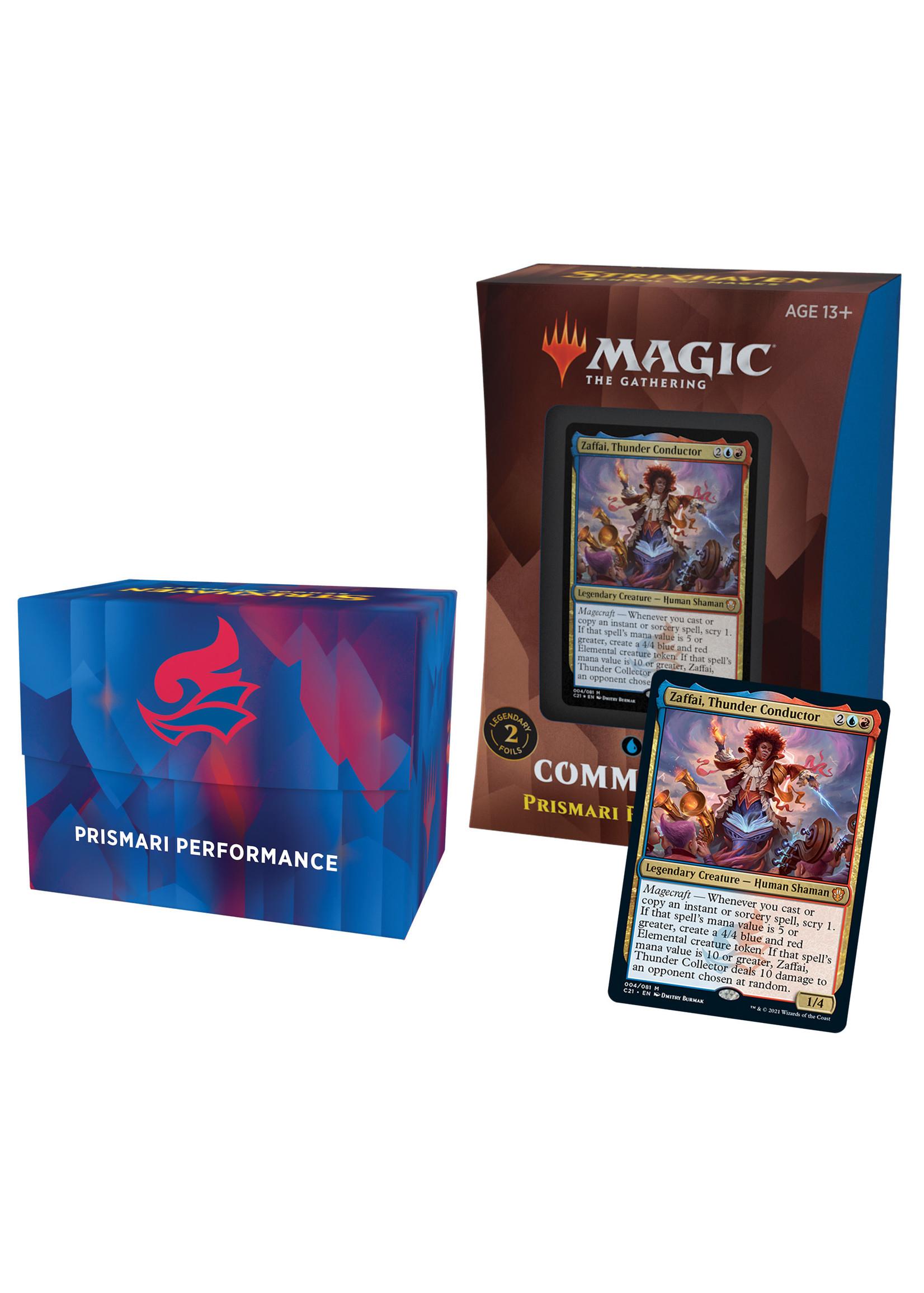 Magic: The Gathering Commander (Strixhaven 2021 Edition) Deck single