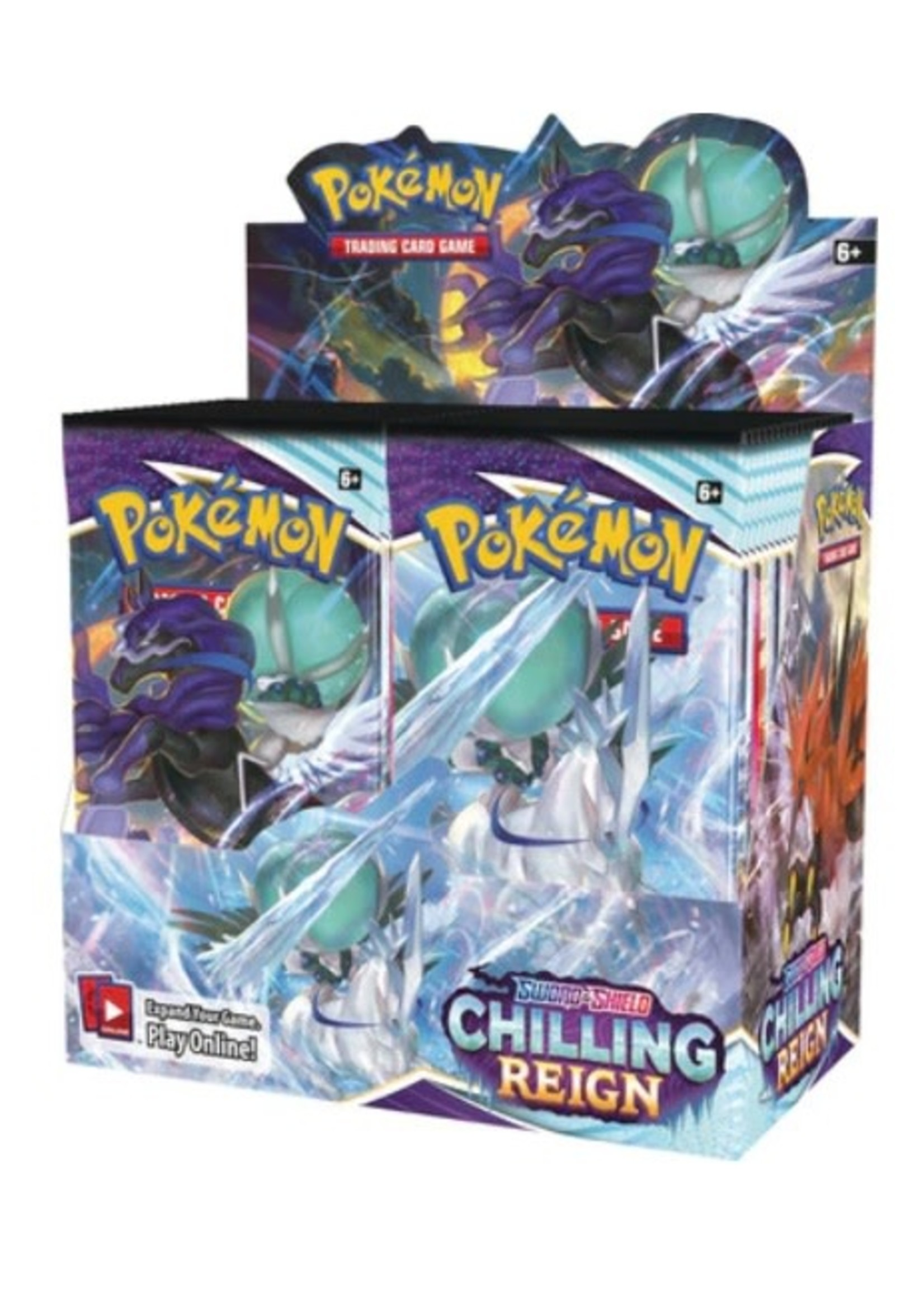 Pokemon Chilling Reign Booster Box