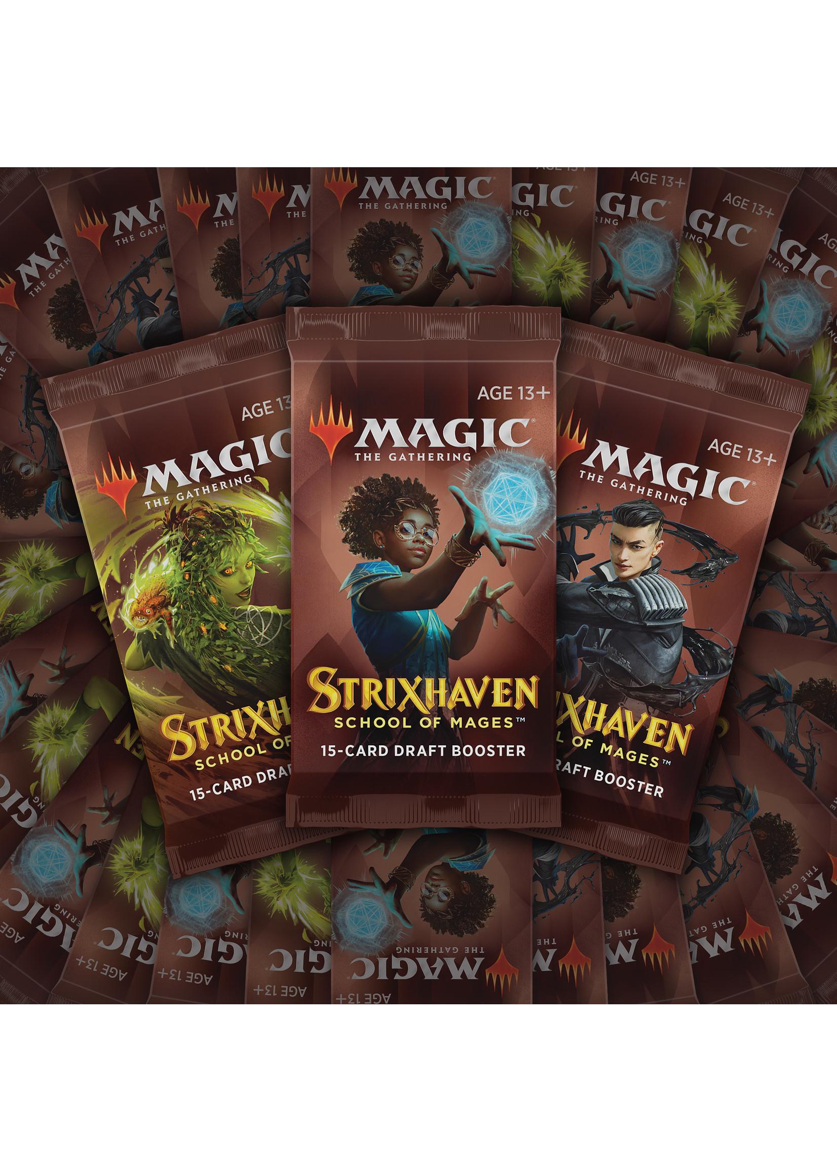 Magic: The Gathering Strixhaven Draft booster box (36)