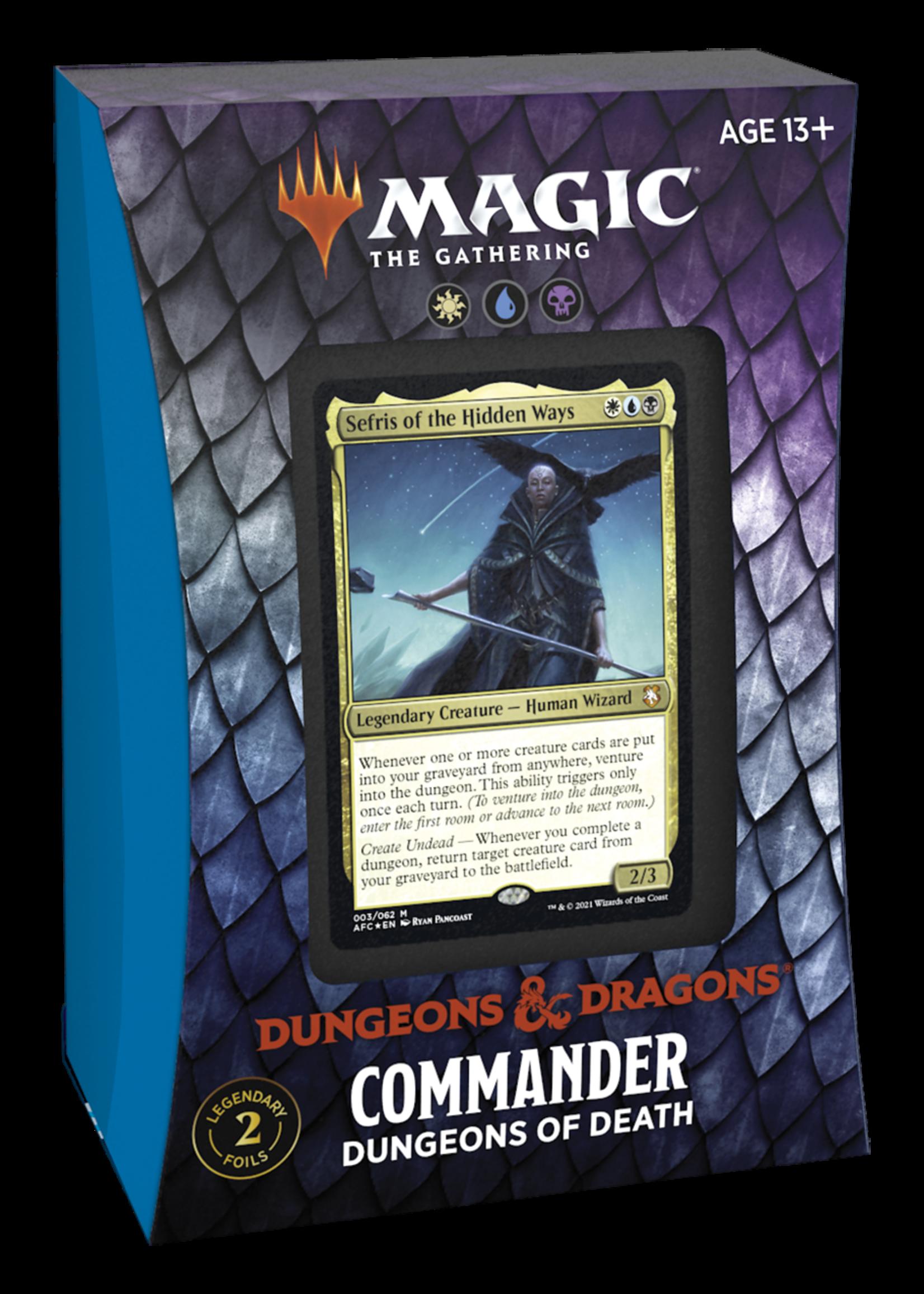 Magic: The Gathering MtG Adventures in Forgotten Realms Commander Decks