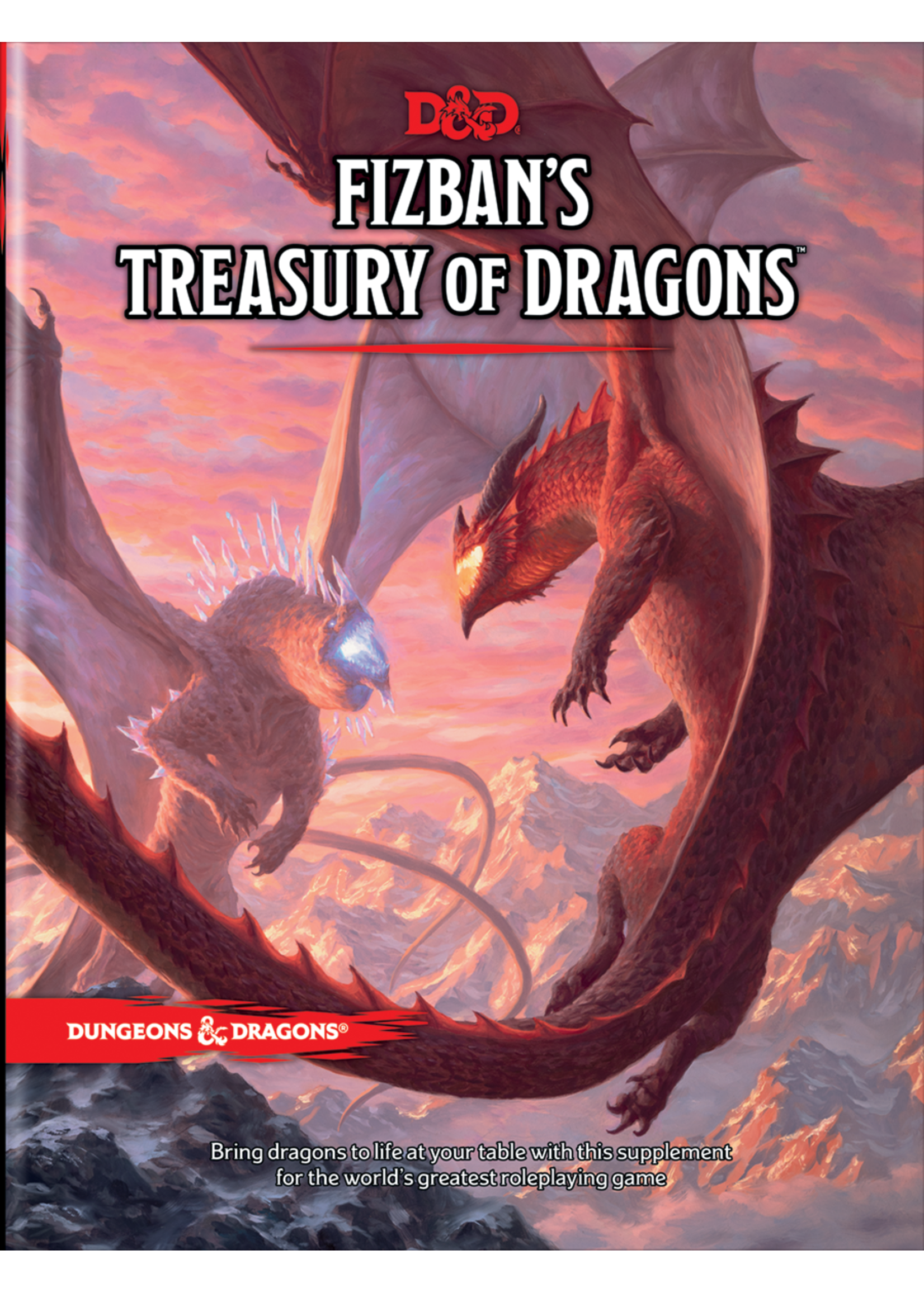 Dungeons & Dragons D&D RPG: Fizban`s Treasury of Dragons Hard Cover