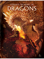 Dungeons & Dragons D&D RPG: Fizban`s Treasury of Dragons Alt. Hard Cover