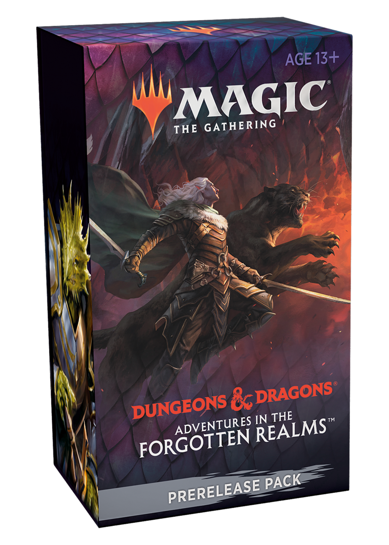 Magic: The Gathering Adventures in the Forgotten Realms prerelease kit