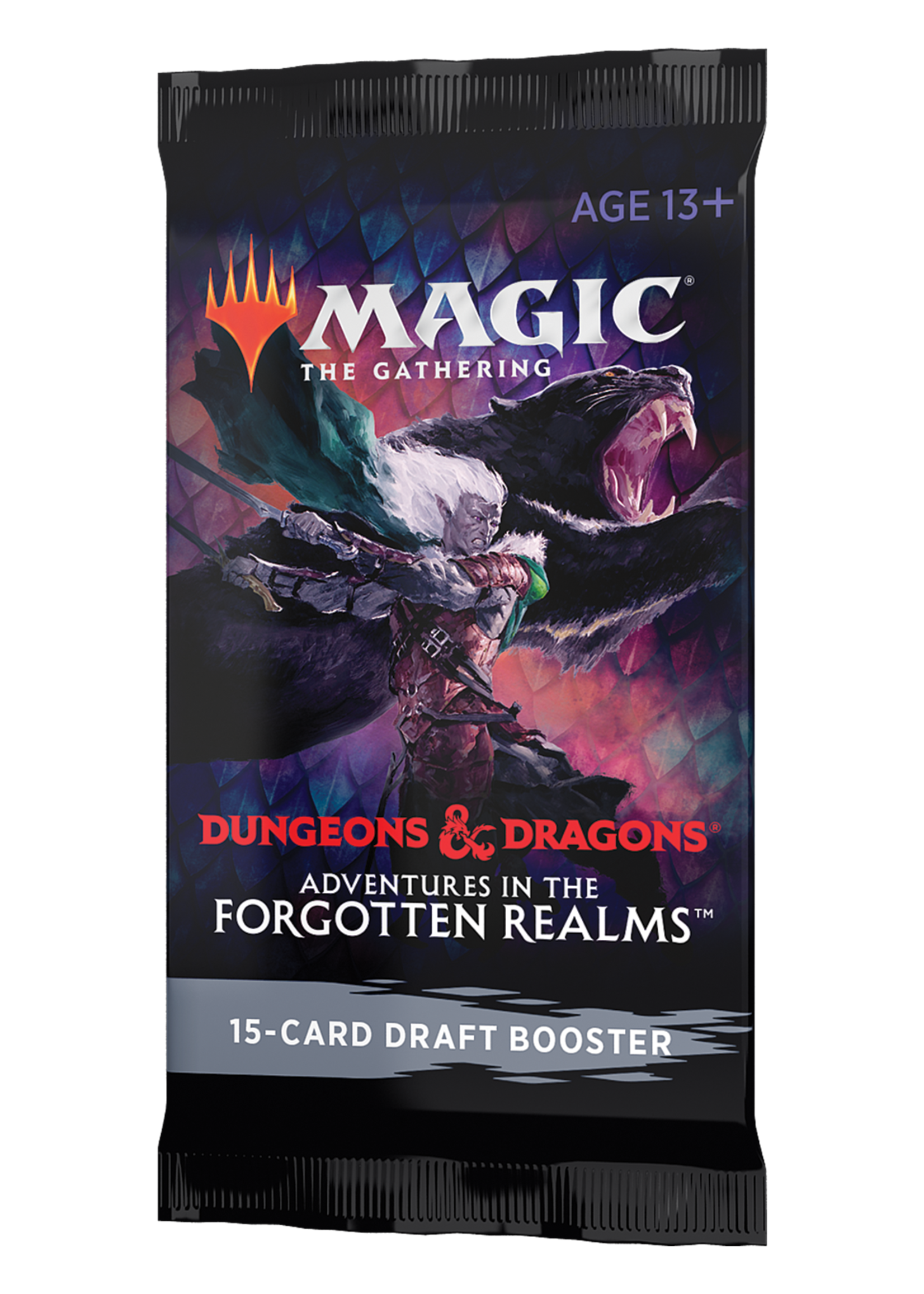 Magic: The Gathering Adventures in Forgotten Realms Set Booster  single