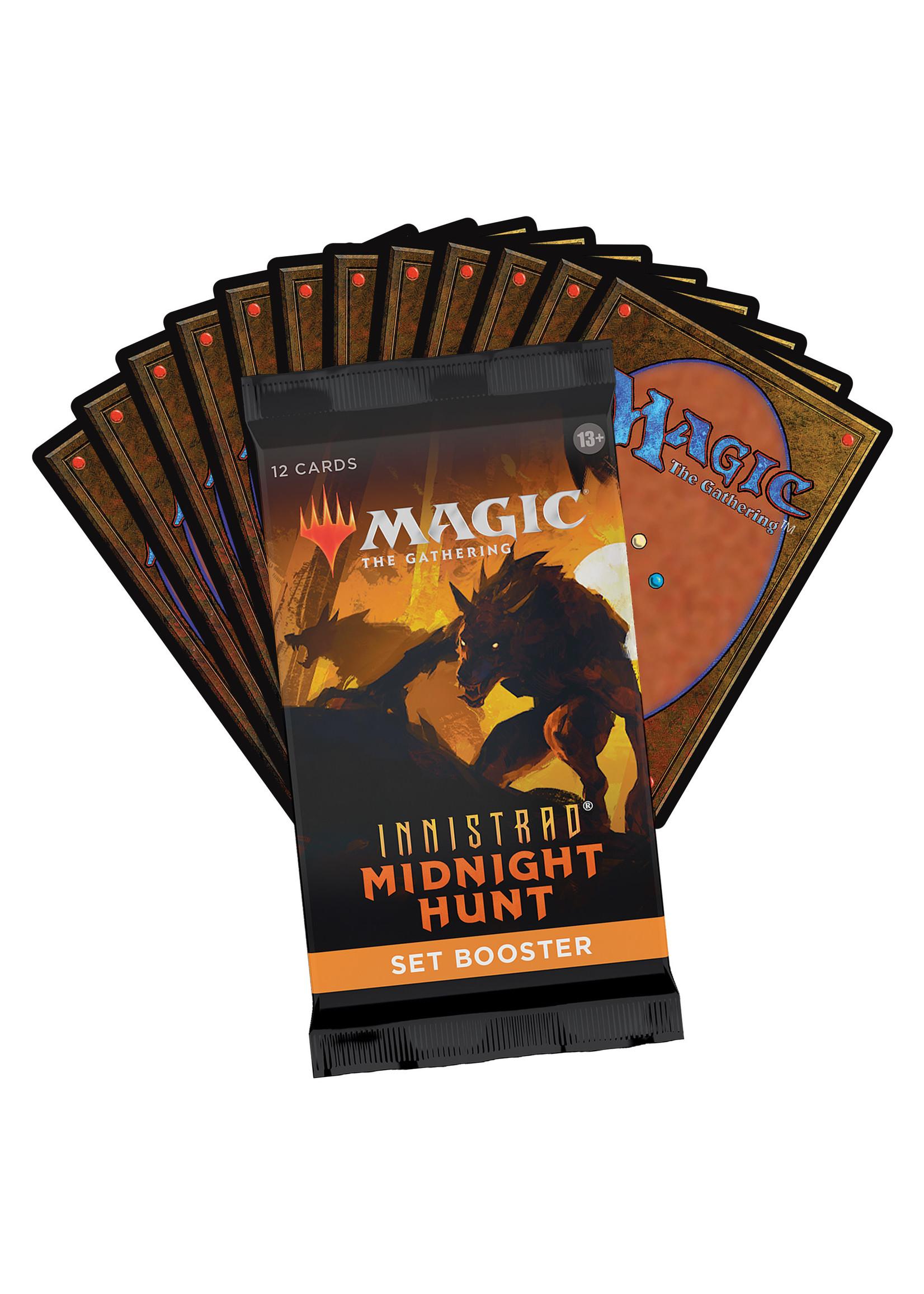 Magic: The Gathering Innistrad Midnight Hunt Set Booster Box (30)