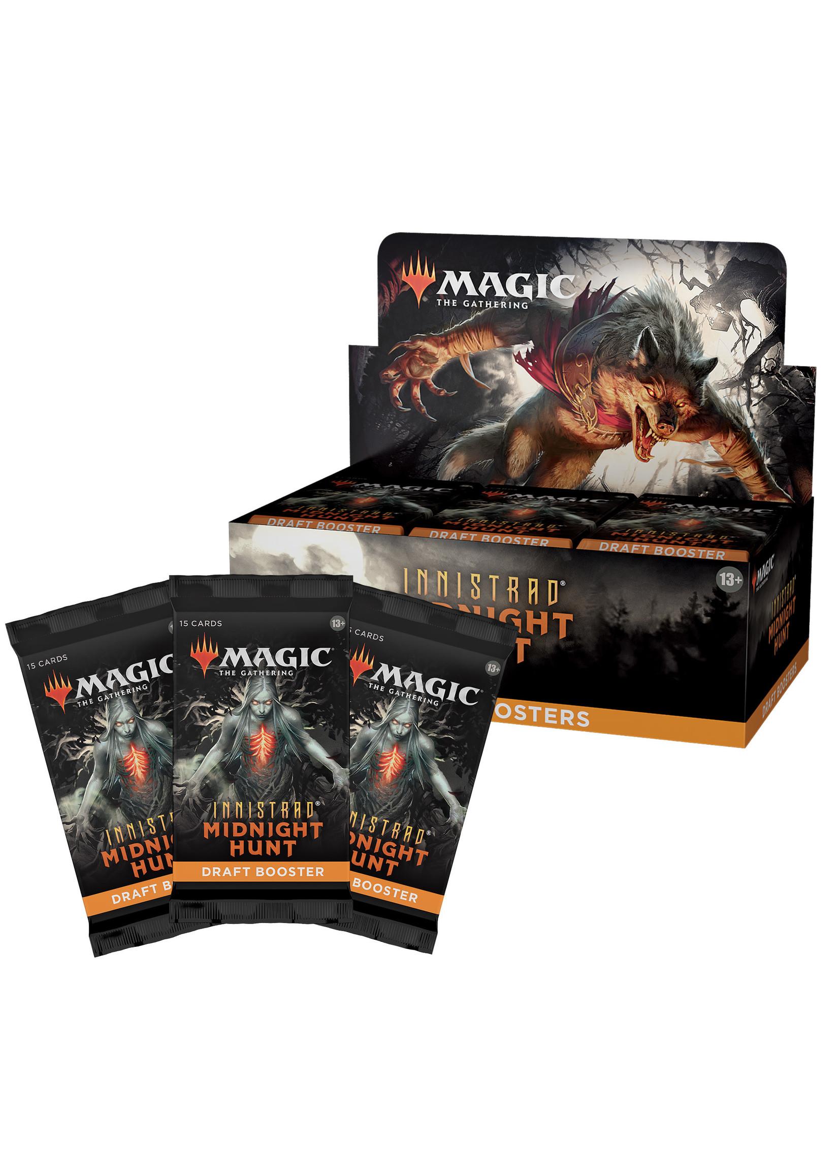 Magic: The Gathering Innistrad Midnight Hunt Draft Booster Box (36)