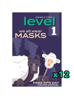 level 1: We All Wear Masks- 1 FRPGD Points