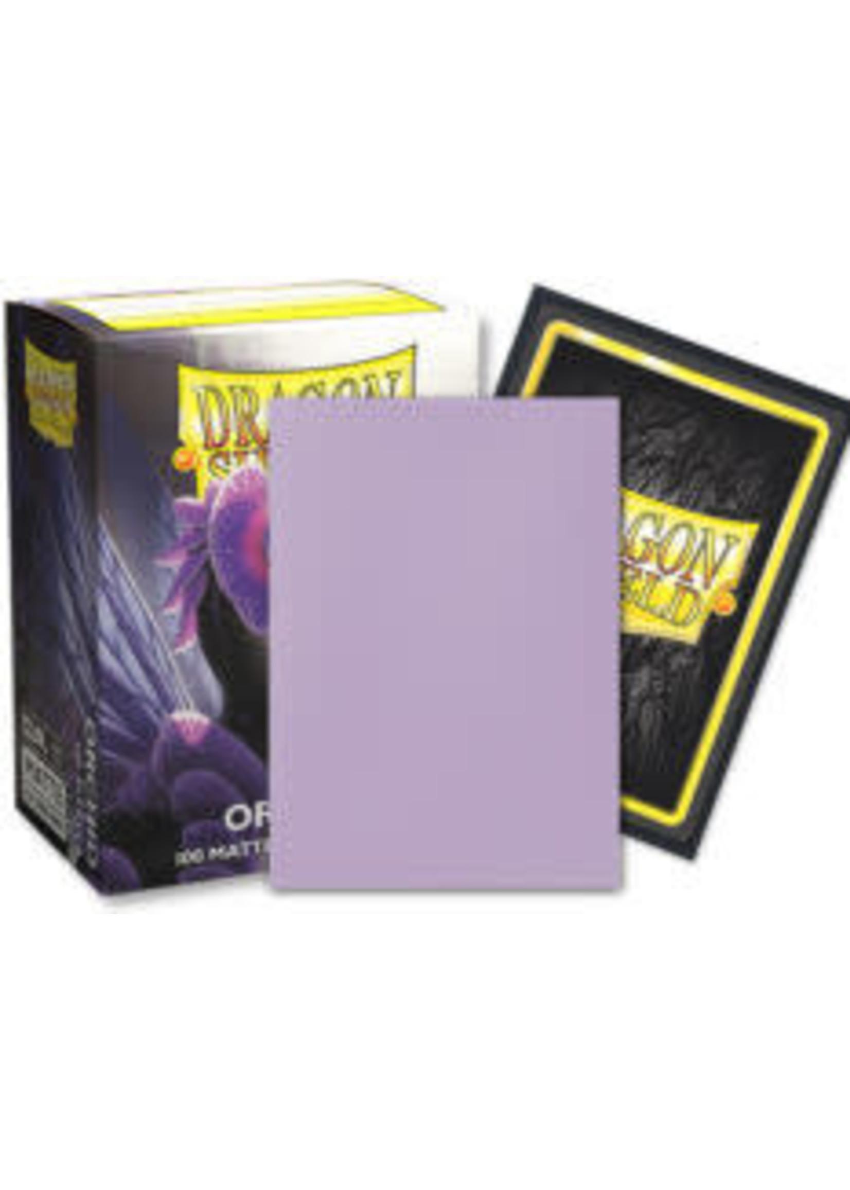 Arcane Tinmen Dragon Shields: (100) Matte Dual Card Sleeves Orchid