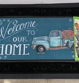 EVERGREEN ENTERPRISES, INC. FLOWER TRUCK DOOR MAT INSERT