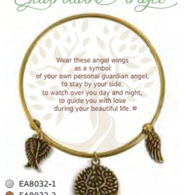 CLOCK IT TO YA EARTH ANGEL BRACELET- GUARDIAN