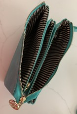 KALEIDOSCOPE Genuine Leather Clutch Purse