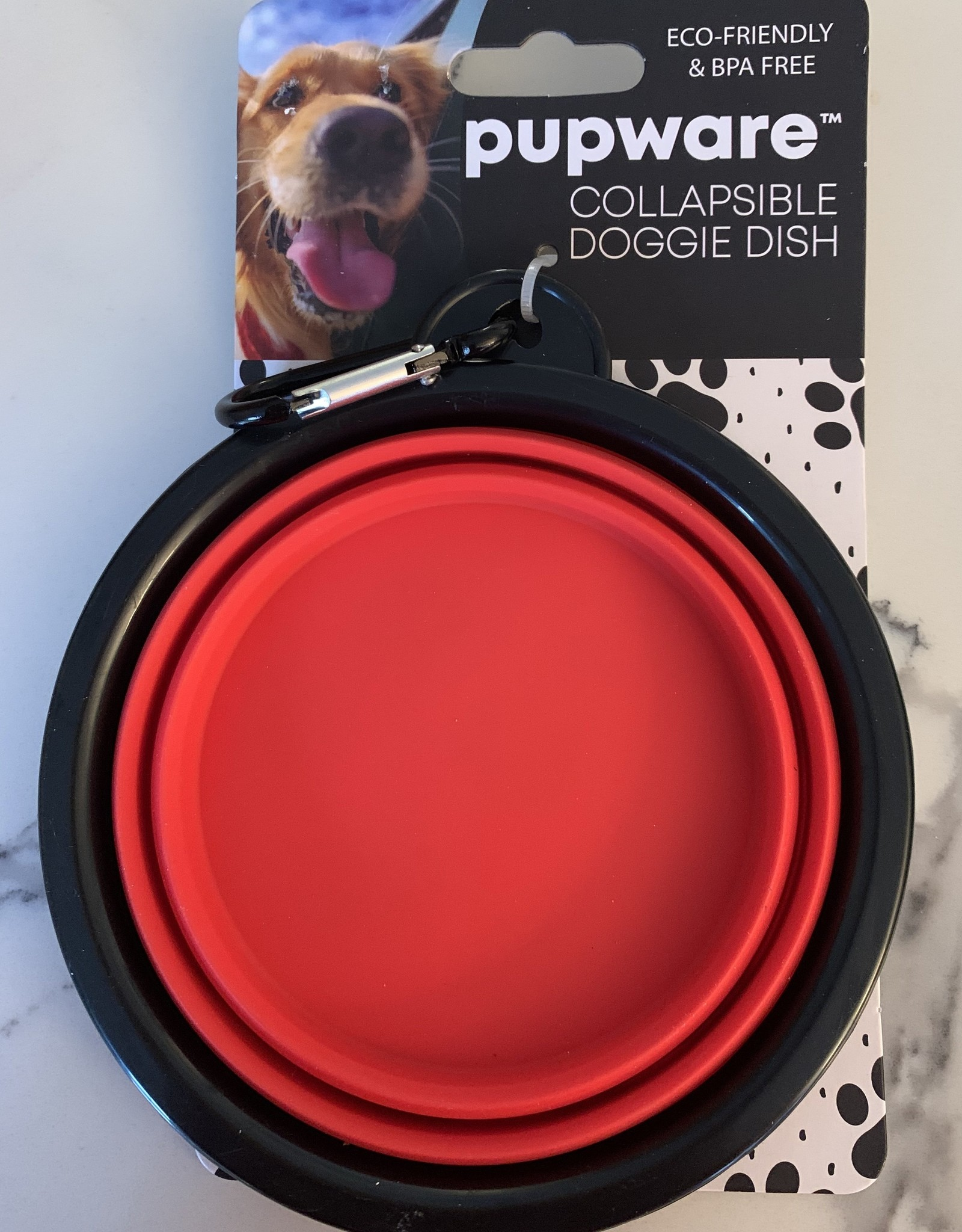 D.M. MERCHANDISING INC. Collapsible Doggie Dish