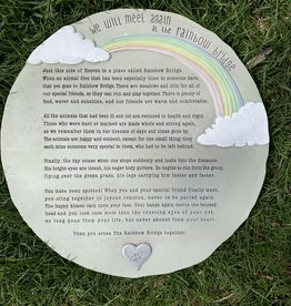 AMSCAN RAINBOW BRIDGE STEPPING STONE