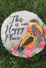 SPOONTIQUES, INC. THIS IS OUR HAPPY PLACE STEPPING STONE