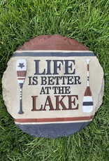 SPOONTIQUES, INC. LIFE IS SBETTER AT THE LAKE STEPPING STONE
