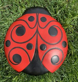 SPOONTIQUES, INC. LADYBUG STEPPING STONE