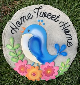 SPOONTIQUES, INC. HOME TWEET HOME STEPPING STONE