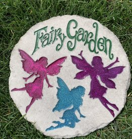 SPOONTIQUES, INC. FAIRY GARDEN STEPPING STONE
