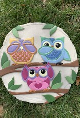 SPOONTIQUES, INC. 3 OWLS STEPPING STONE
