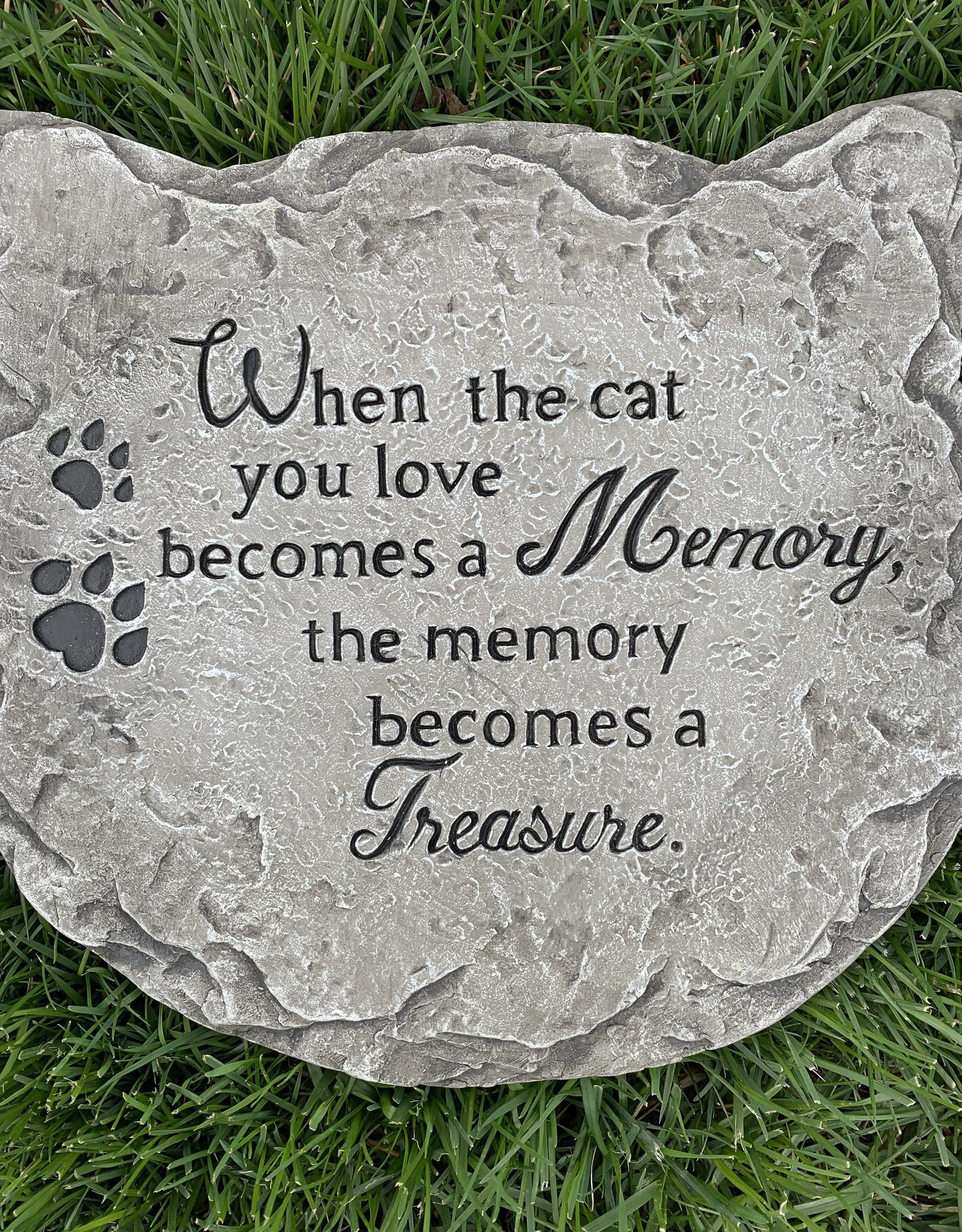 GANZ CAT MEMORIAL STEPPING STONE